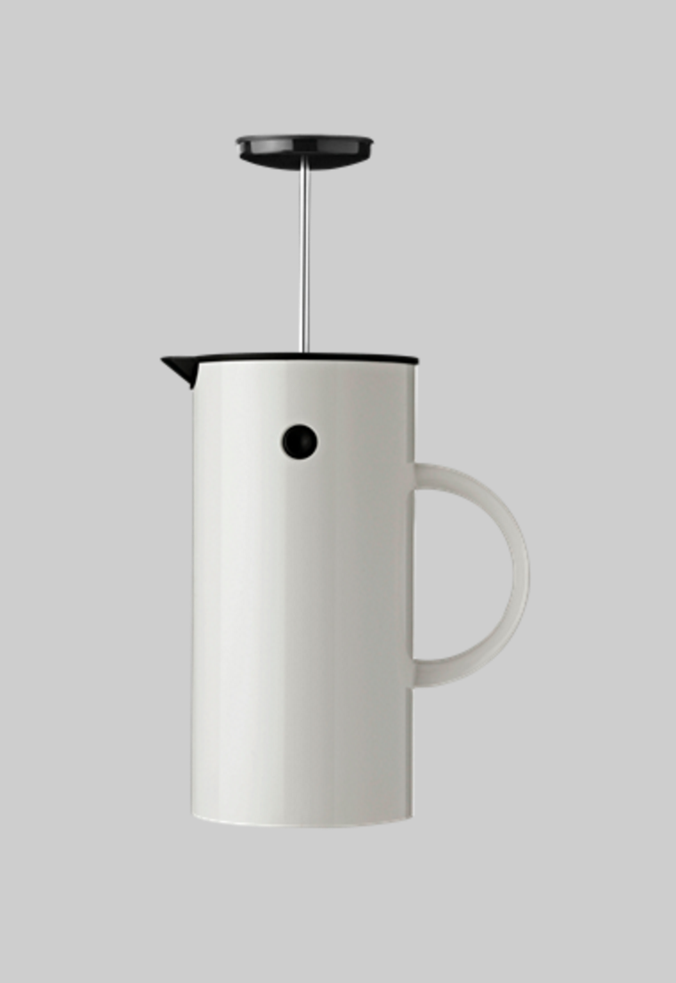 Stelton Em Press Coffee Maker  designed by Erik Magnussen (image from Stelton)