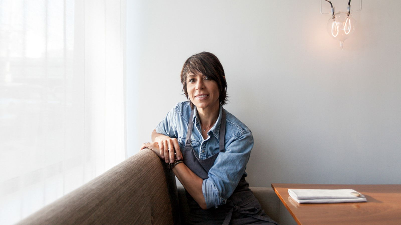 Photo of Dominique Crenn, Photo via Eater SF