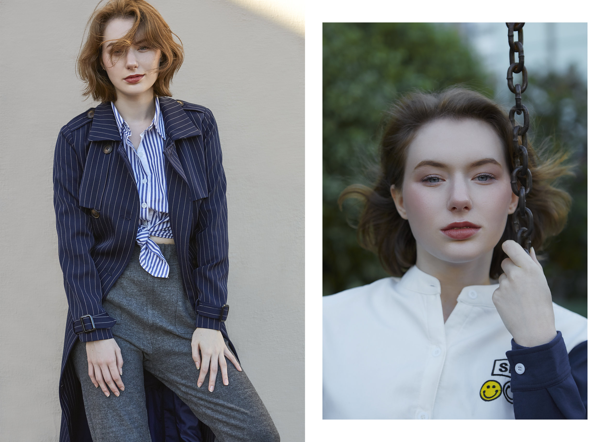 Photography by Claire Li, garments by 1208 Studio