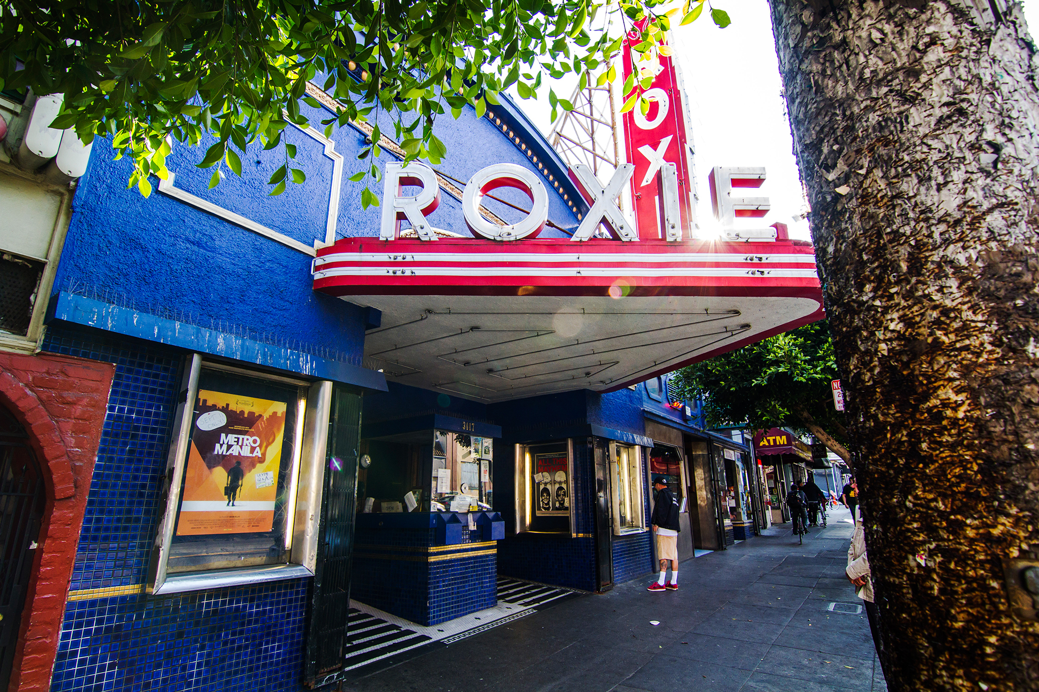 The Roxie Theater still playing to its roots.