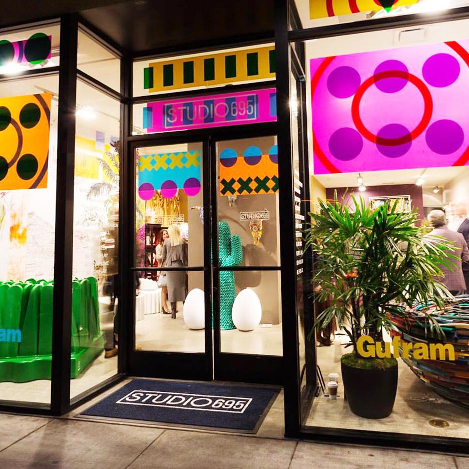The storefront in the design district, photo via Studio 695