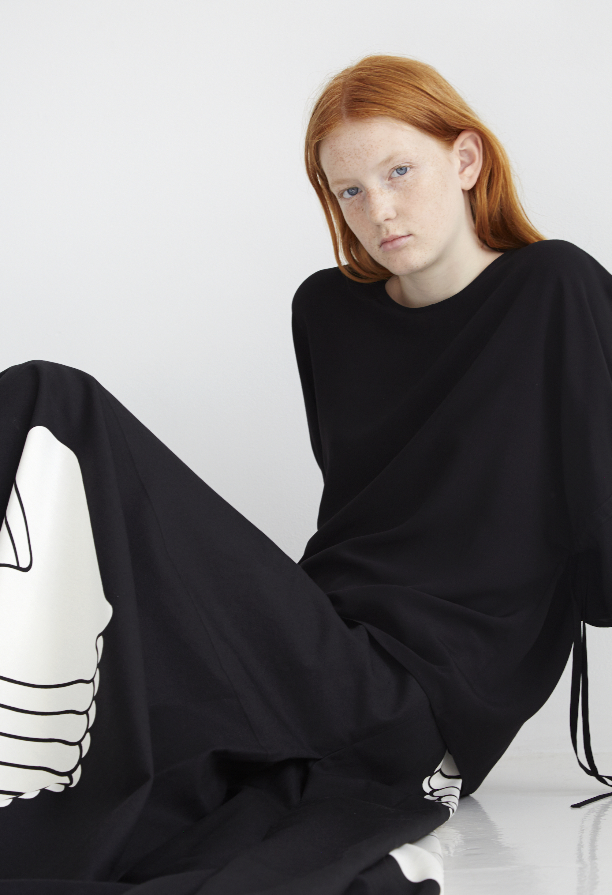 A lookbook photo from the Marimekko collection, photo courtesy of Marimekko