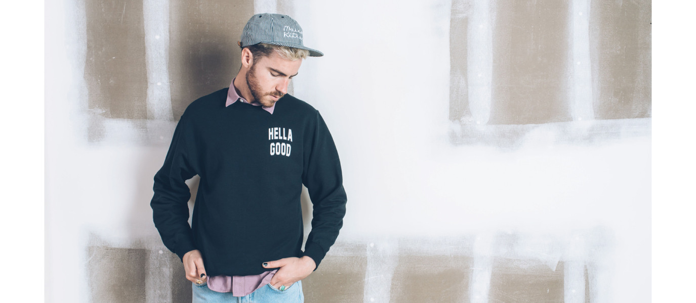 The 'Hella Good' sweater that's perfect for both men and women, photo courtesy of Seldom Seen