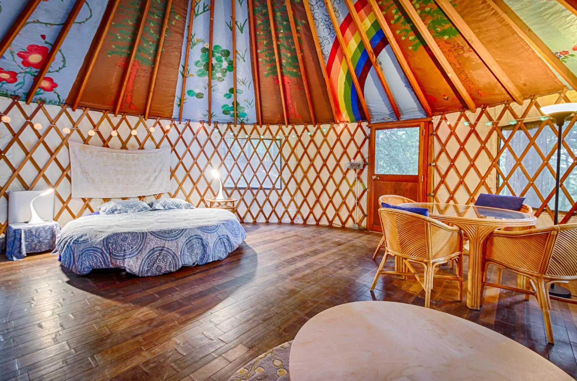 rainbow-yurt