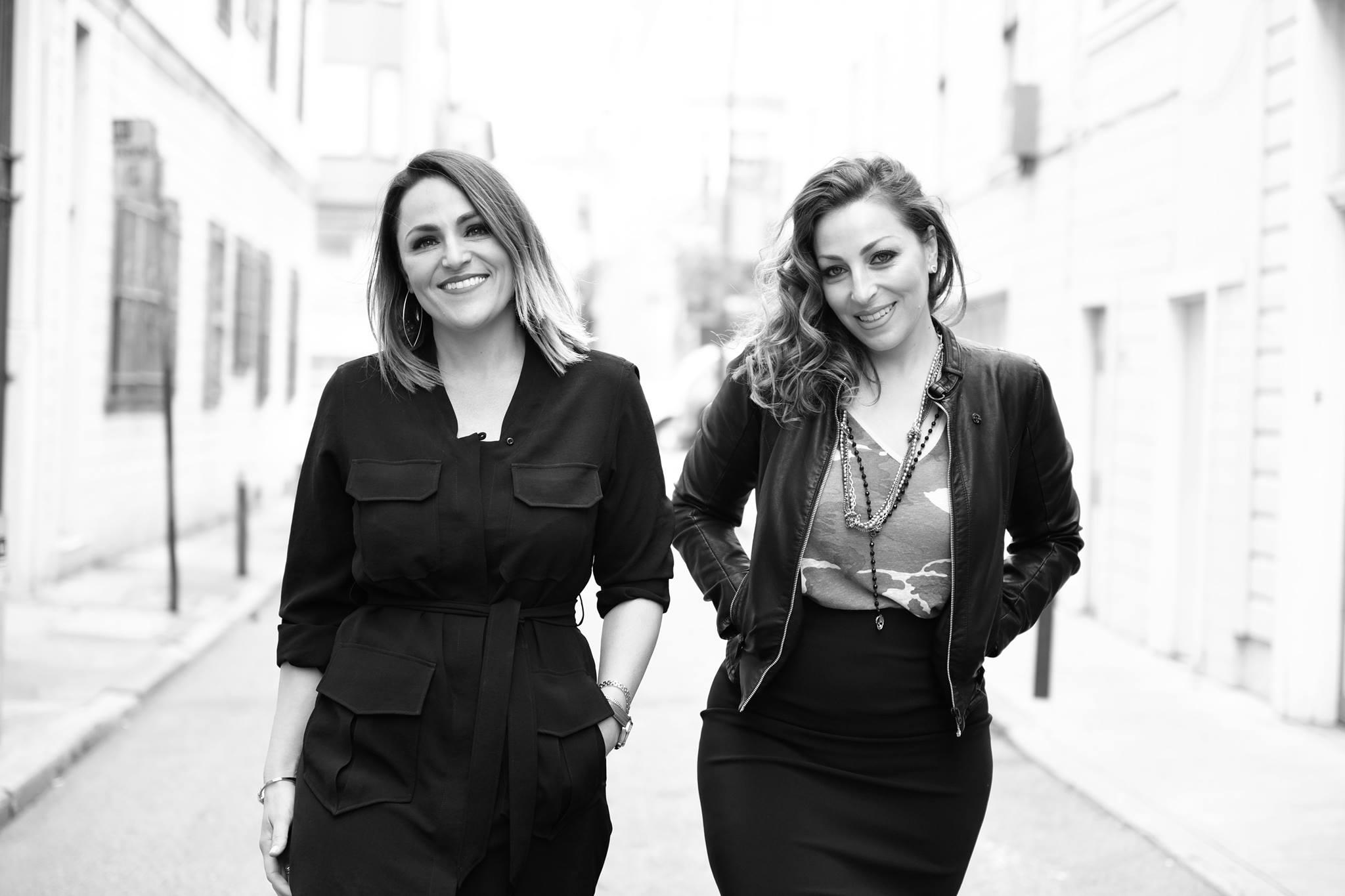 The dynamic sister-duo, photo via Facebook