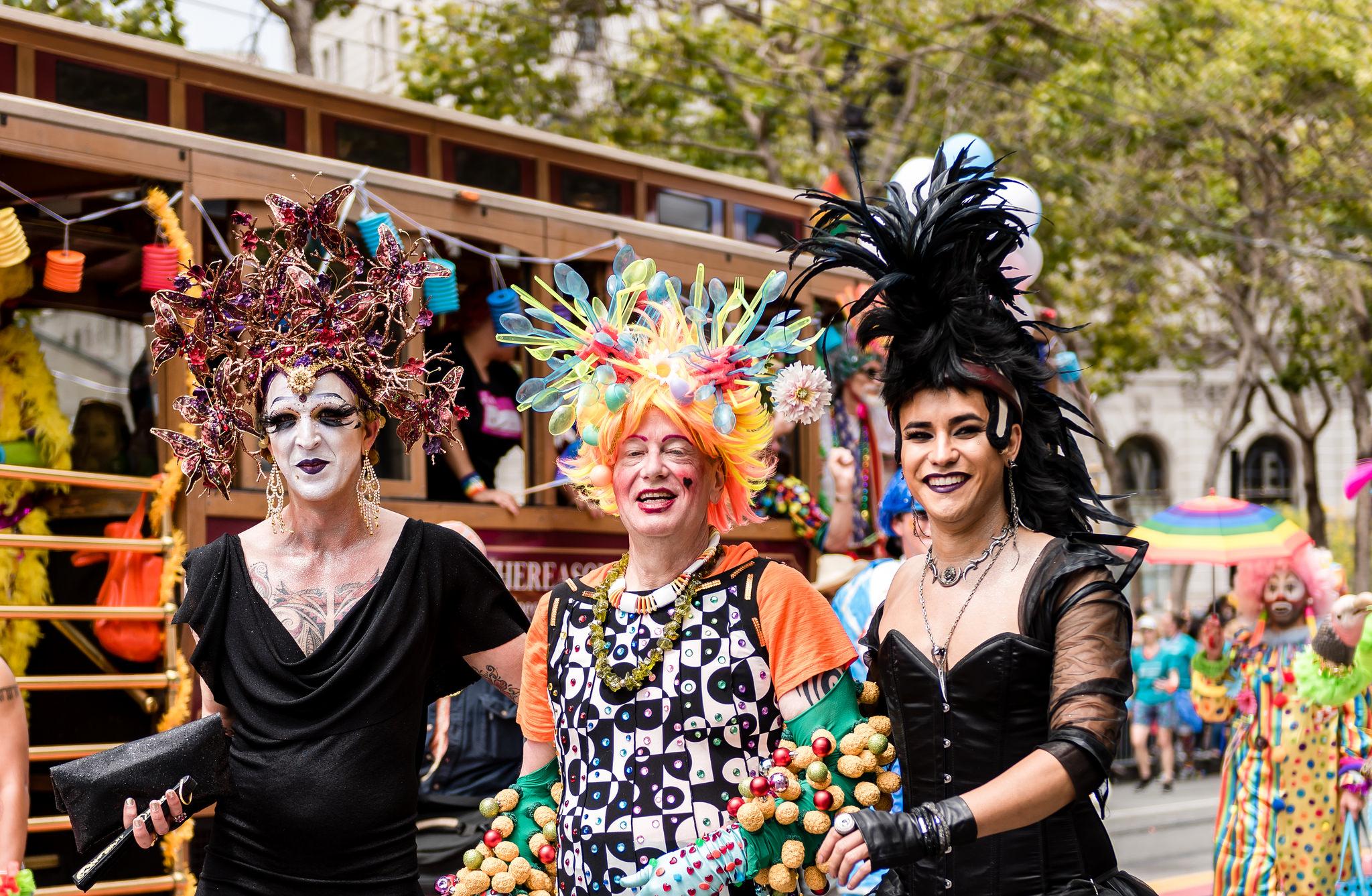 San Francisco Pride 2016, photo via Hoodline.