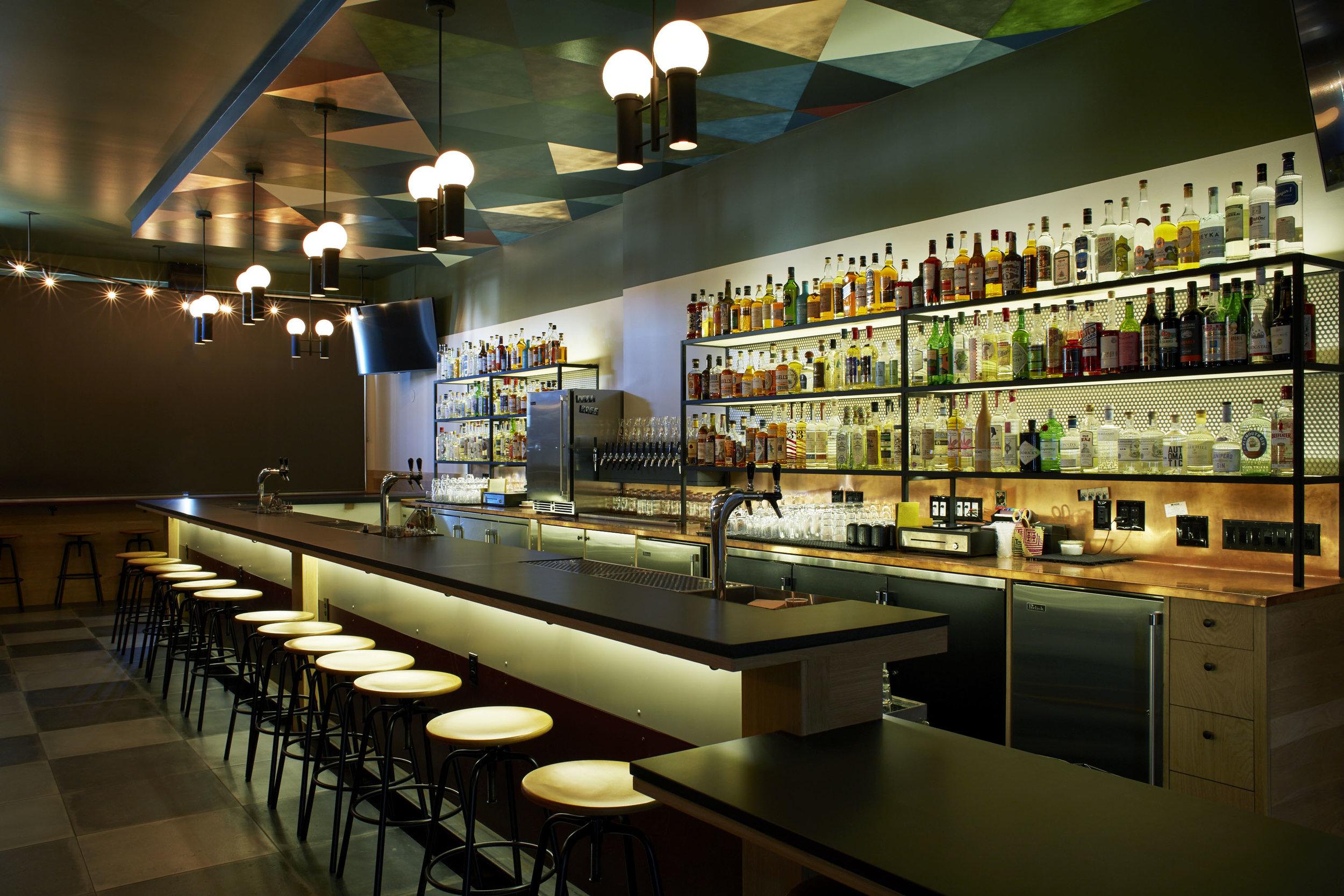 Inside JUNIOR Bar, photo courtesy of JUNIOR.