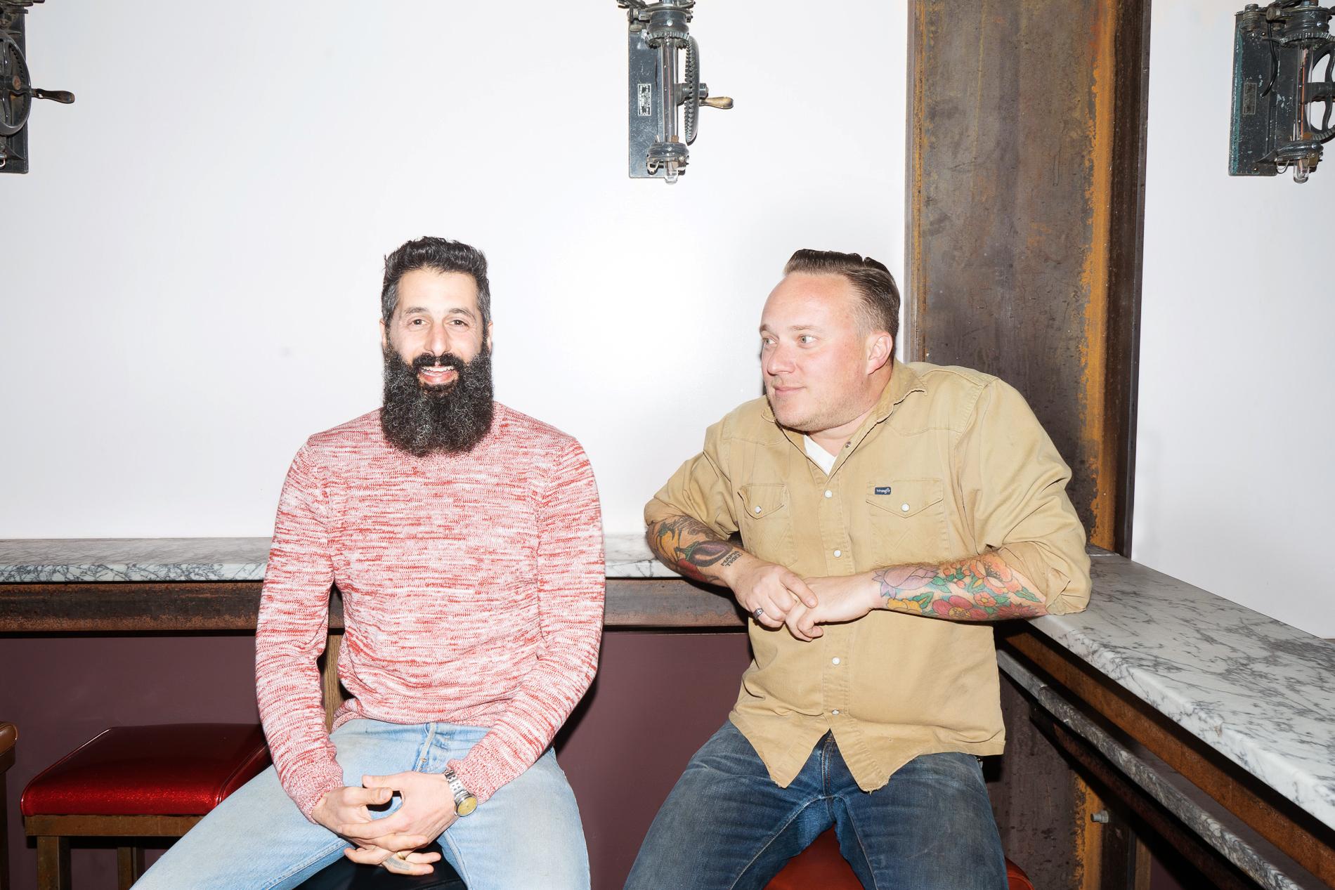 Trick Dog founders Josh Harris and Morgan Schick.