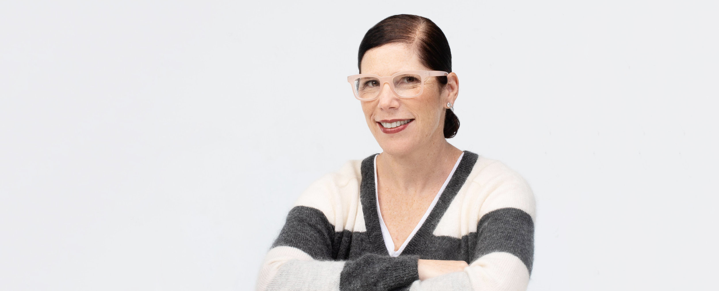 Portrait of founder Tamar Miller, photograph courtesy of Bells & Becks.
