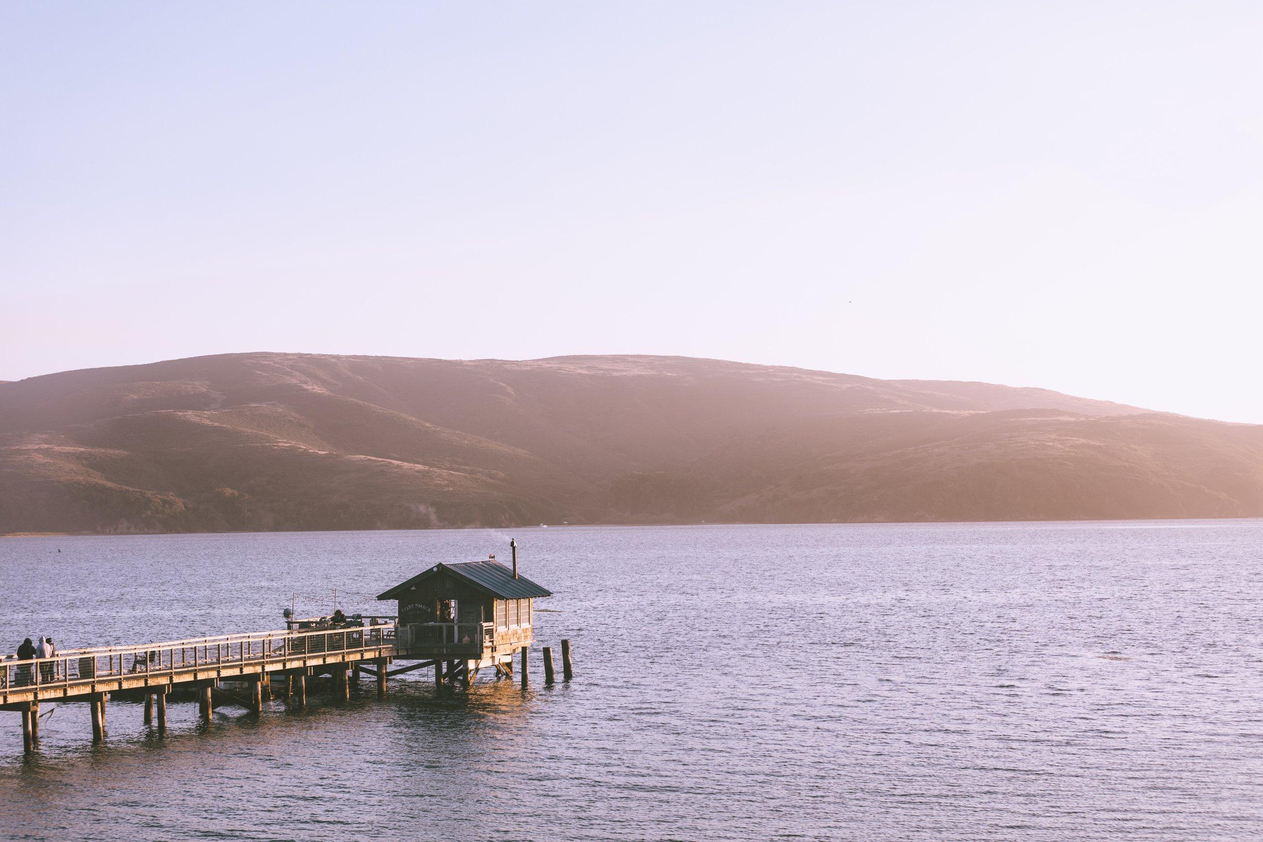 Tomales Bay, photo by Thomas Ciszewski.