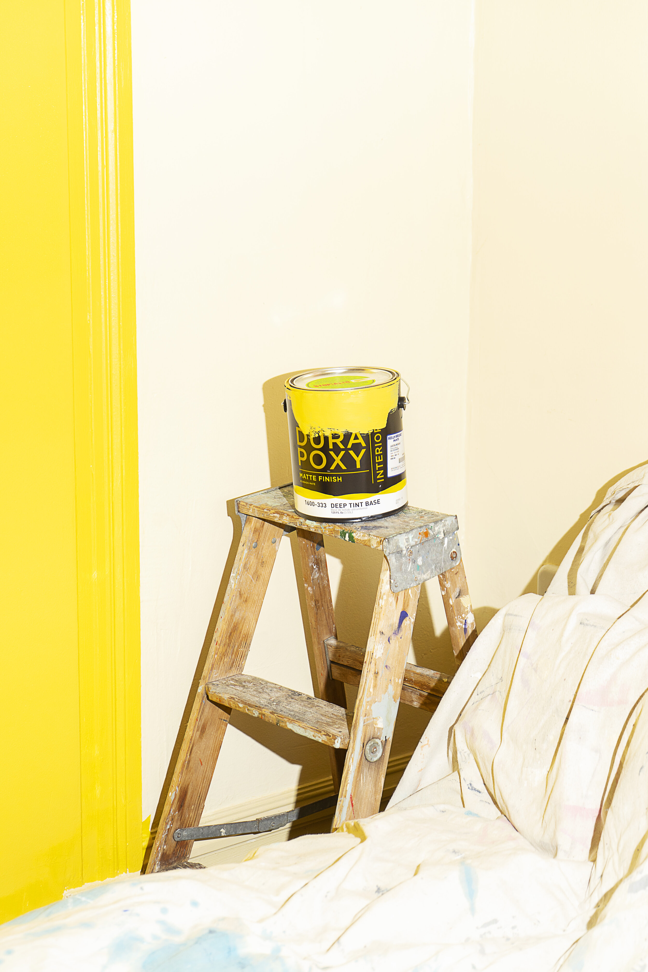 How Our Office Move Got A Bright Sunny Addition Thanks to Kelly-Moore Paints