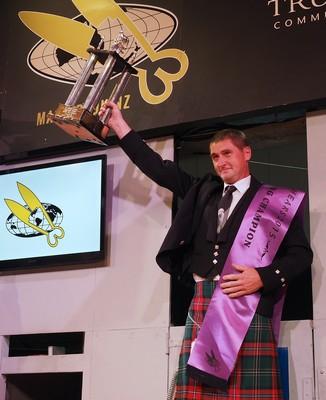 Gavin Mutch with trophy