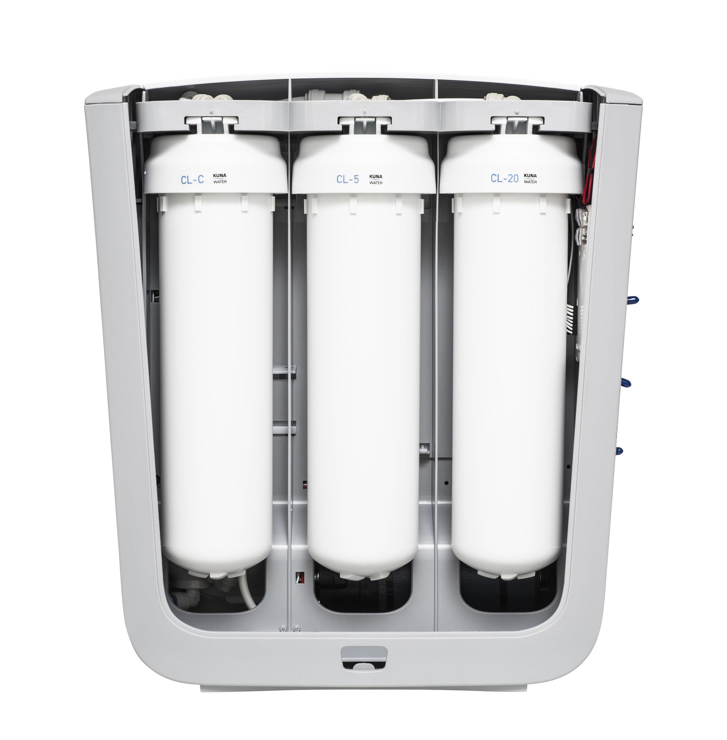 Wasser Filter Filterset für KUNA CLEONE®  2 ST.