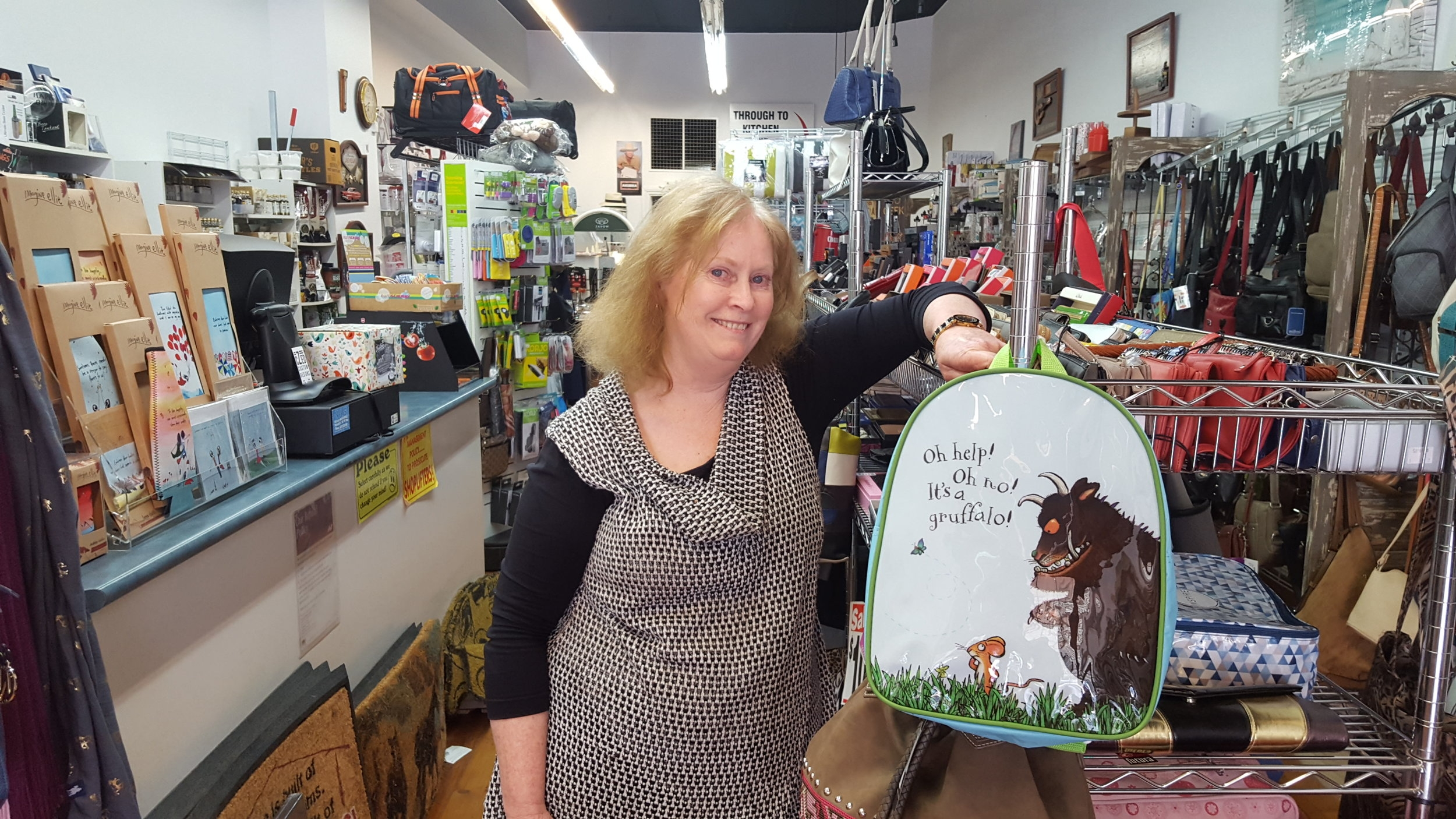 Elise from Dusty's Bag & Kitchen Shop in Swan Hill has registered to learn to build a website for her business next month at Mallee Rising.