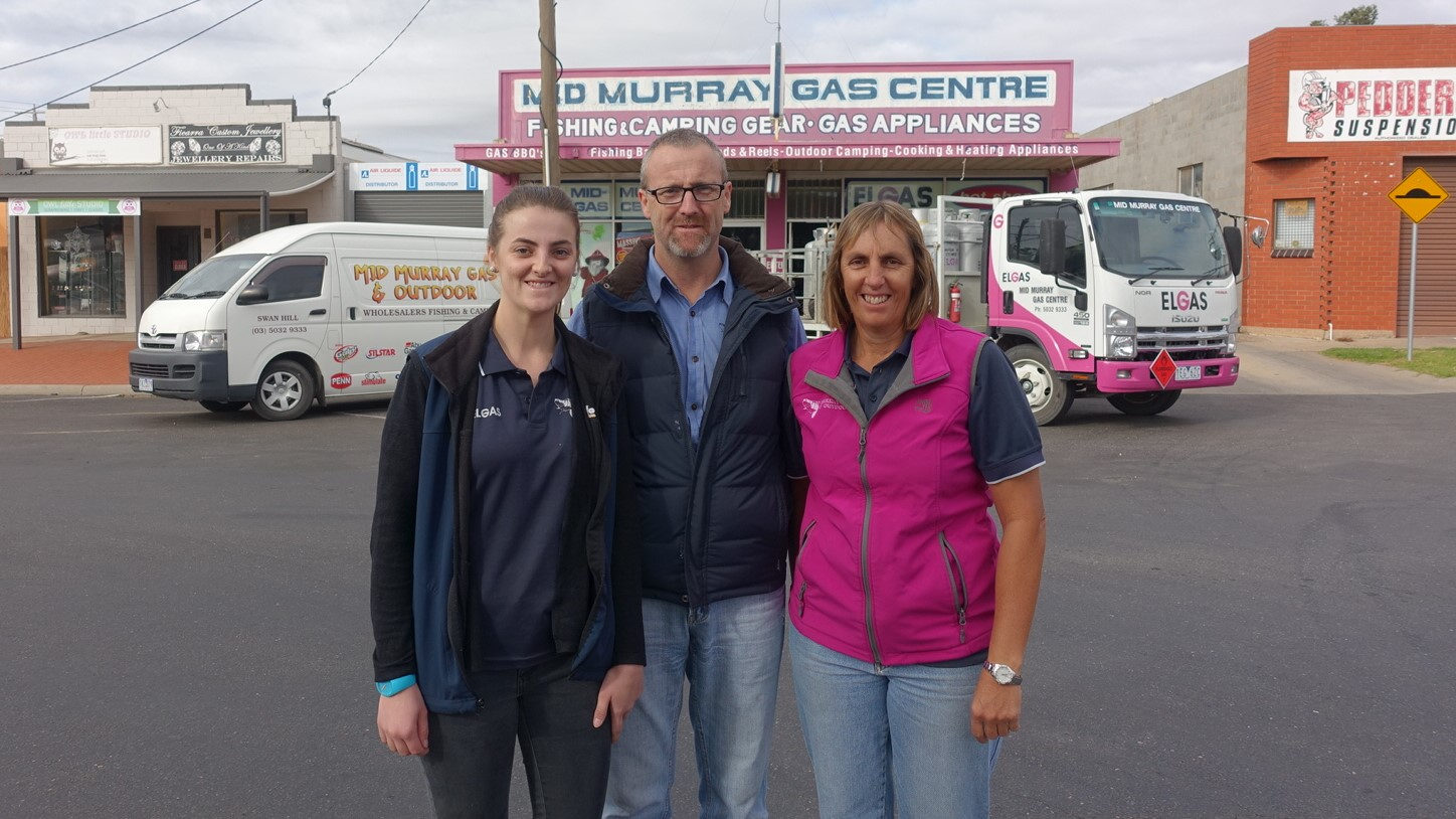 Gemma, Craig and Sonia Saul relaunched the website for their small business in 2018 and have increased their use of Facebook to reach new customers.