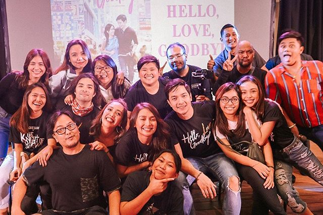 Such a light and happy team! Super!! 💖✨ • #HelloLoveFanmeet #HelloLoveGoodbye #LifeAtStarCinema