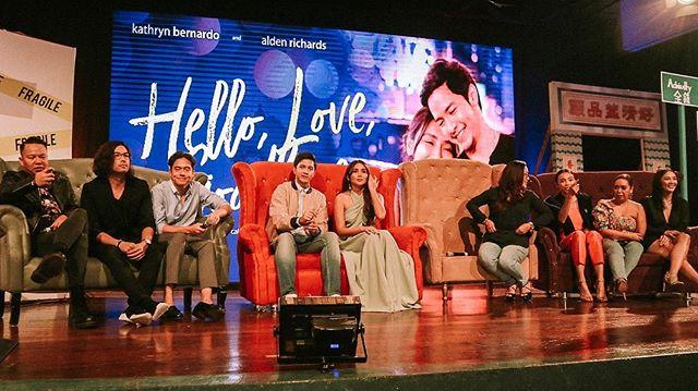 More snaps from last night's #HelloWorldMediaLaunch 💖 . #HelloLoveGoodbye #LifeAtStarCinema