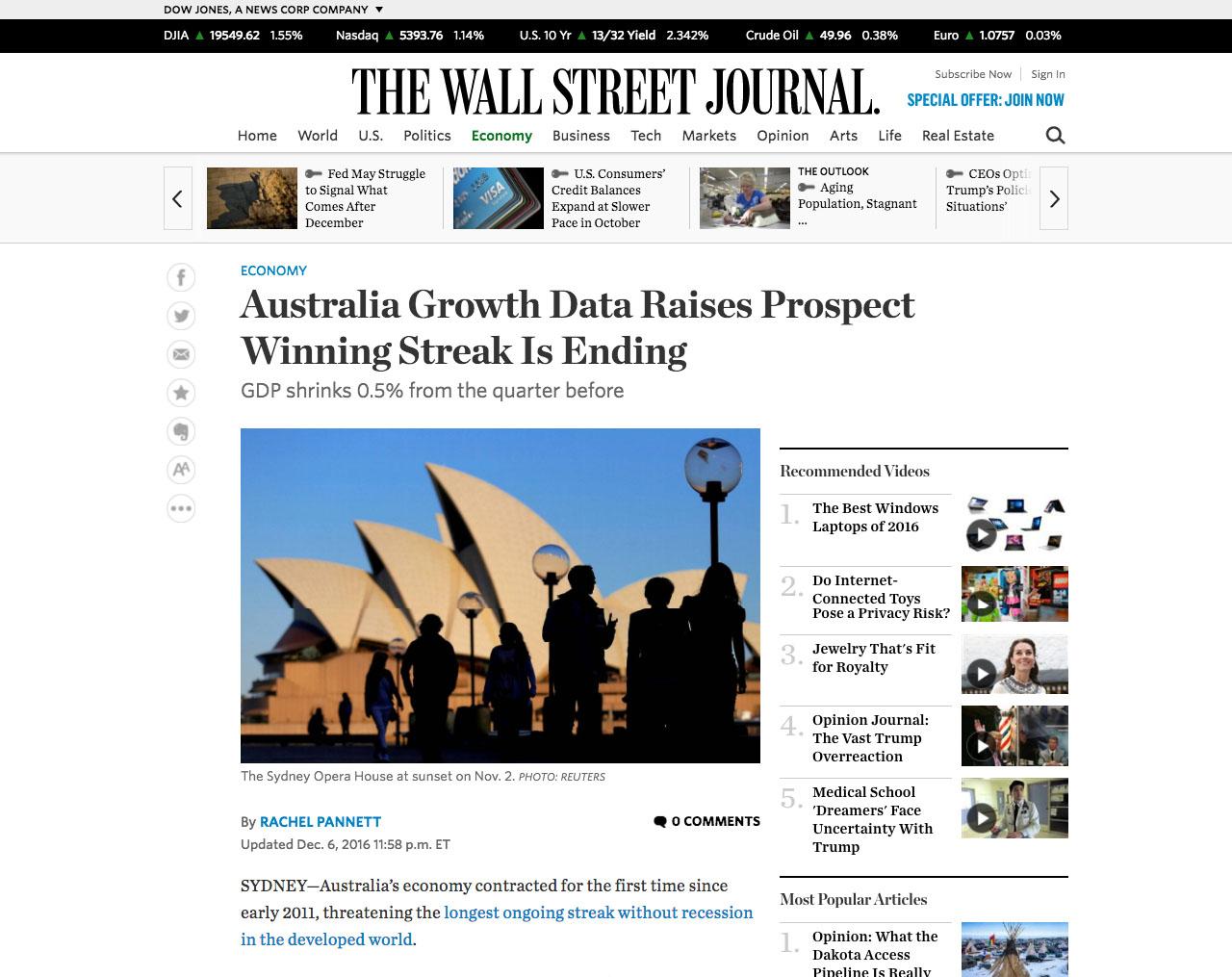 2016-12-06 The Wall Street Journal - Australia Growth Data.jpg