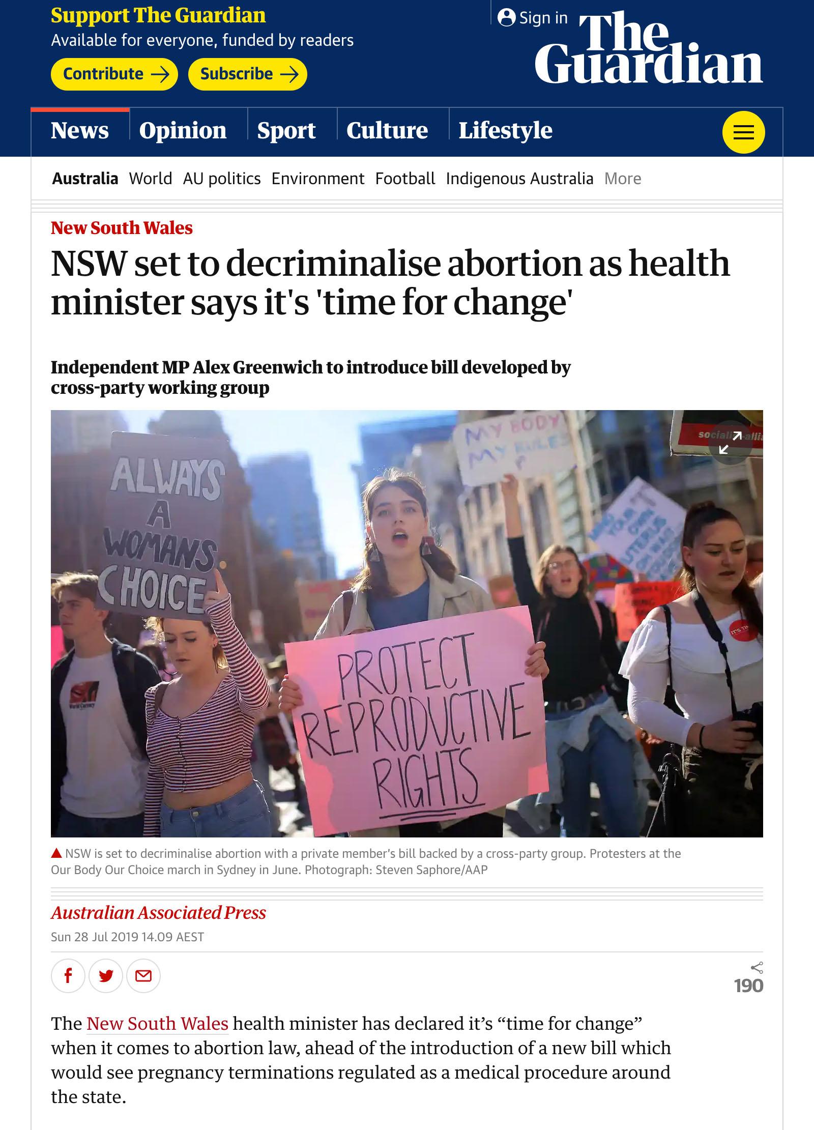 2019-07-28 www.theguardian.com NSW-set-to-decriminalise-abortion SMALL.jpg