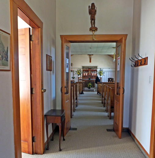 The lobby of our Chapel