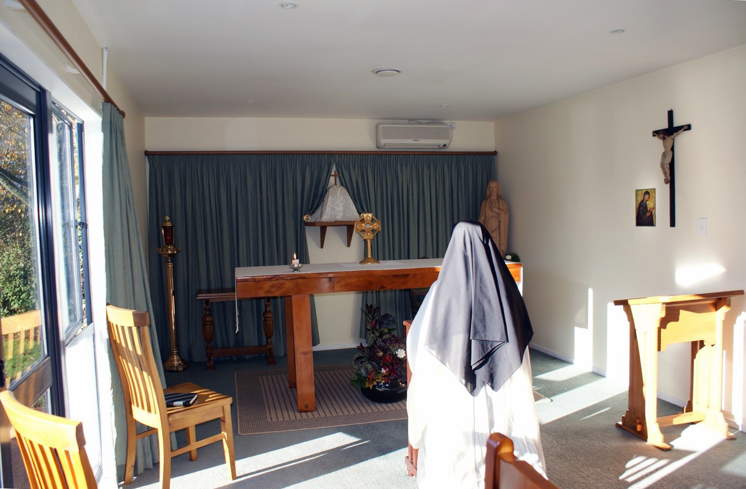 Our first Chapel in the original house in 2009