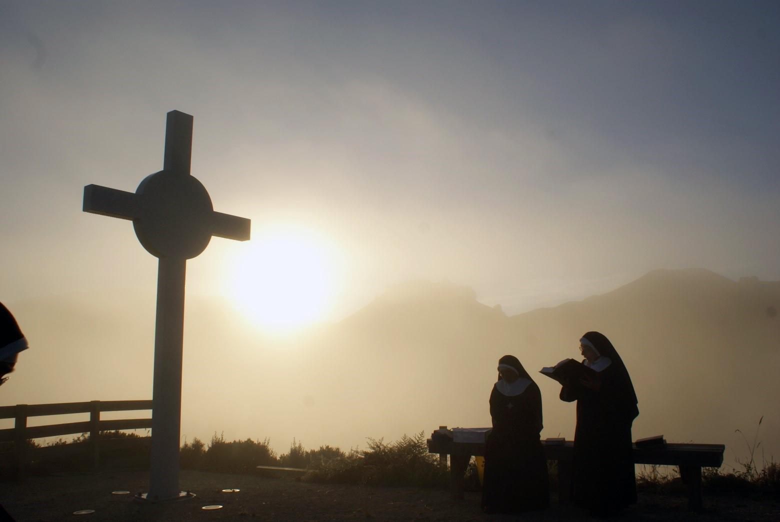 Praising God at dawn