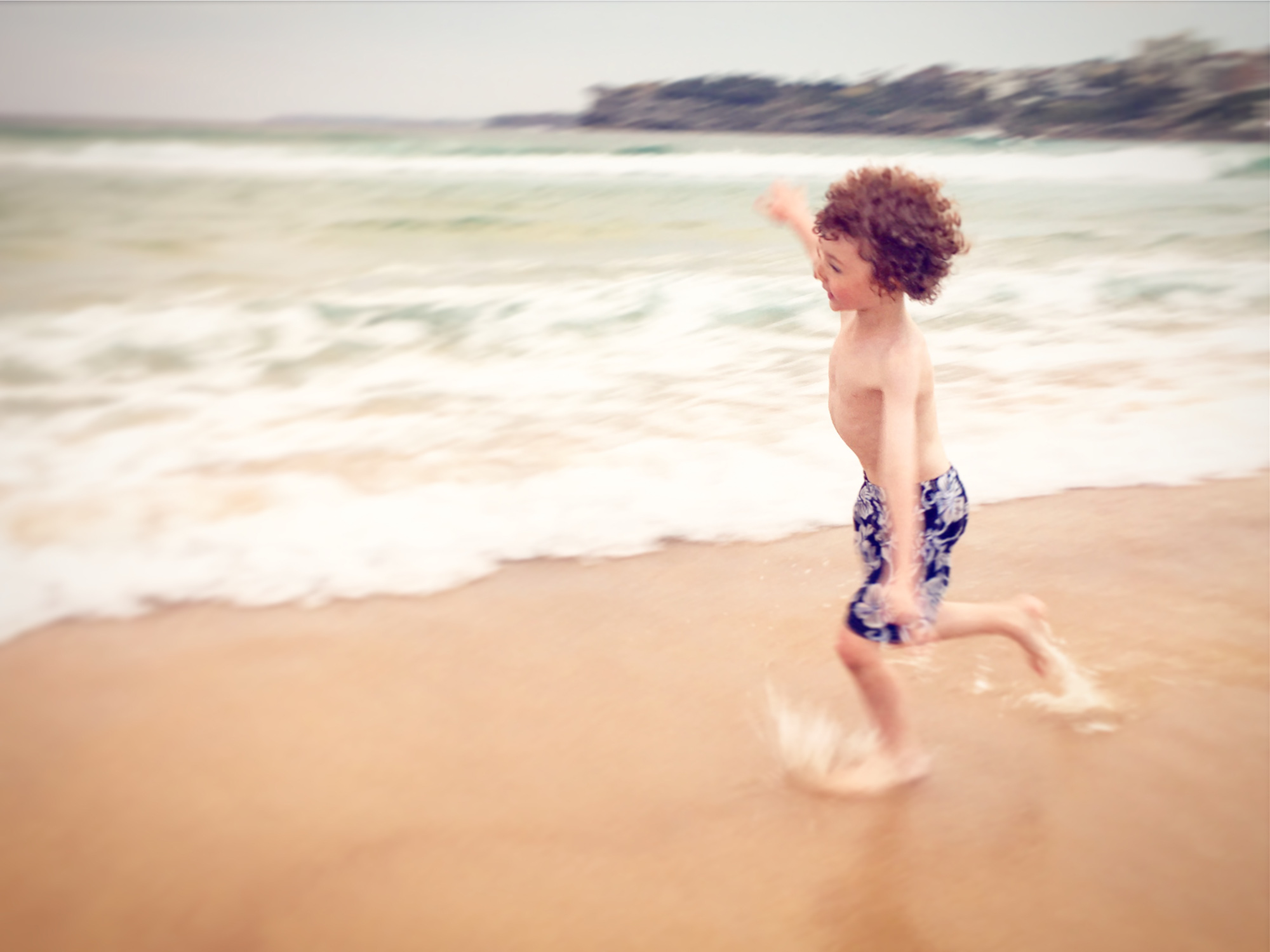 Can't we rather spend the time running free on the beach.
