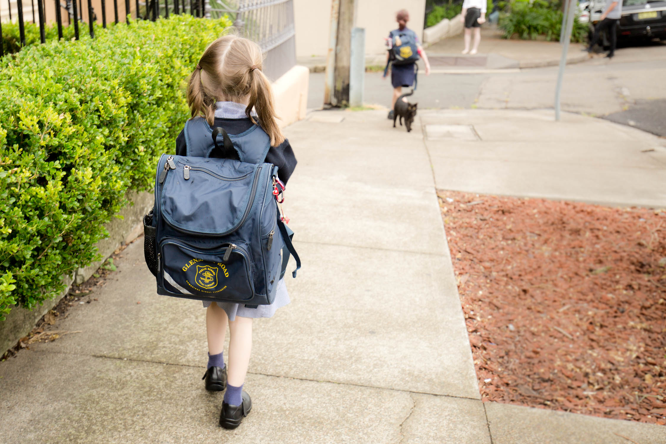 When kids start school, it's not just them who struggle to keep up with the busy schedule.