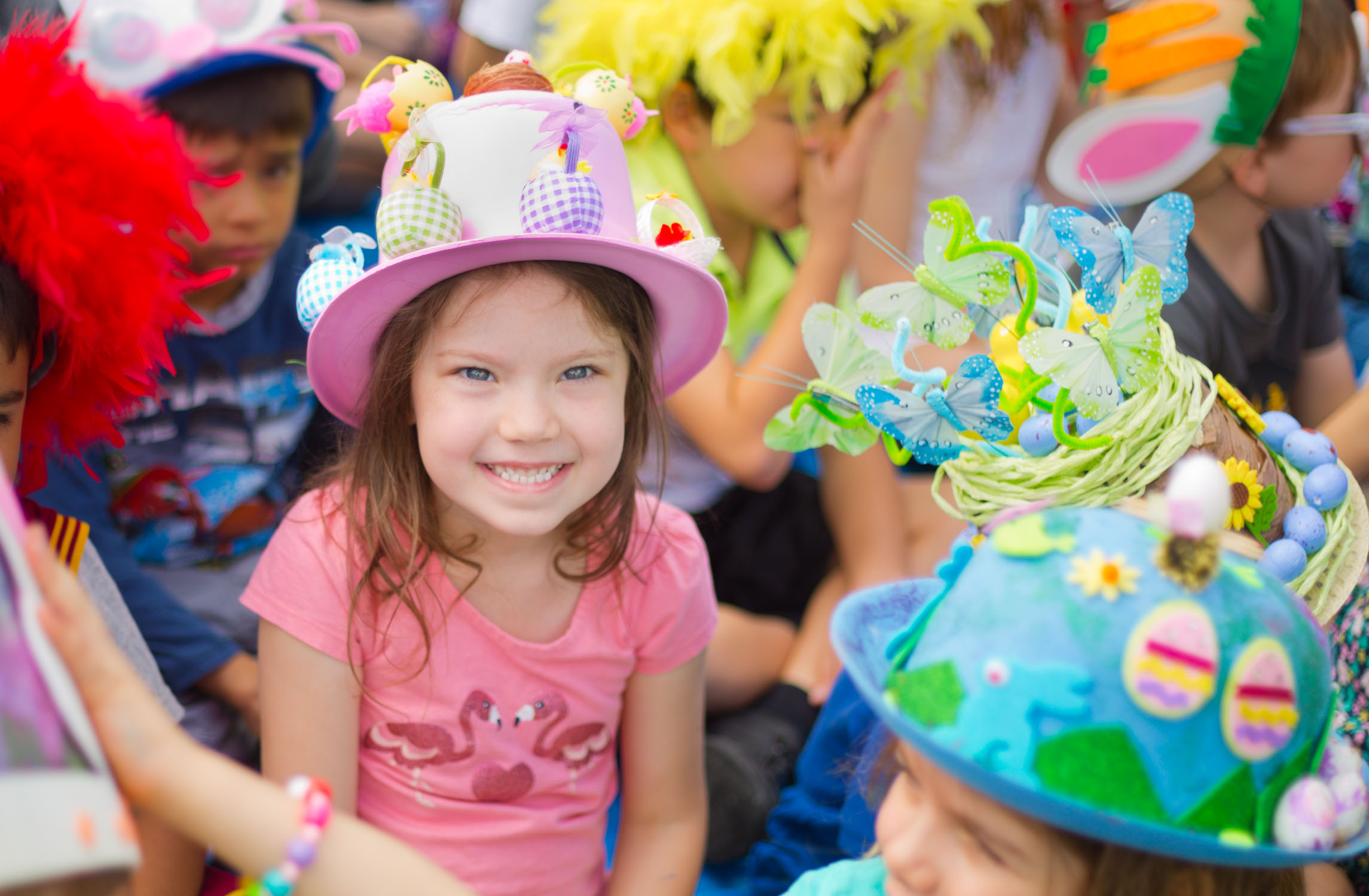 Most women have more productive things to do with their time than making Easter bonnets.