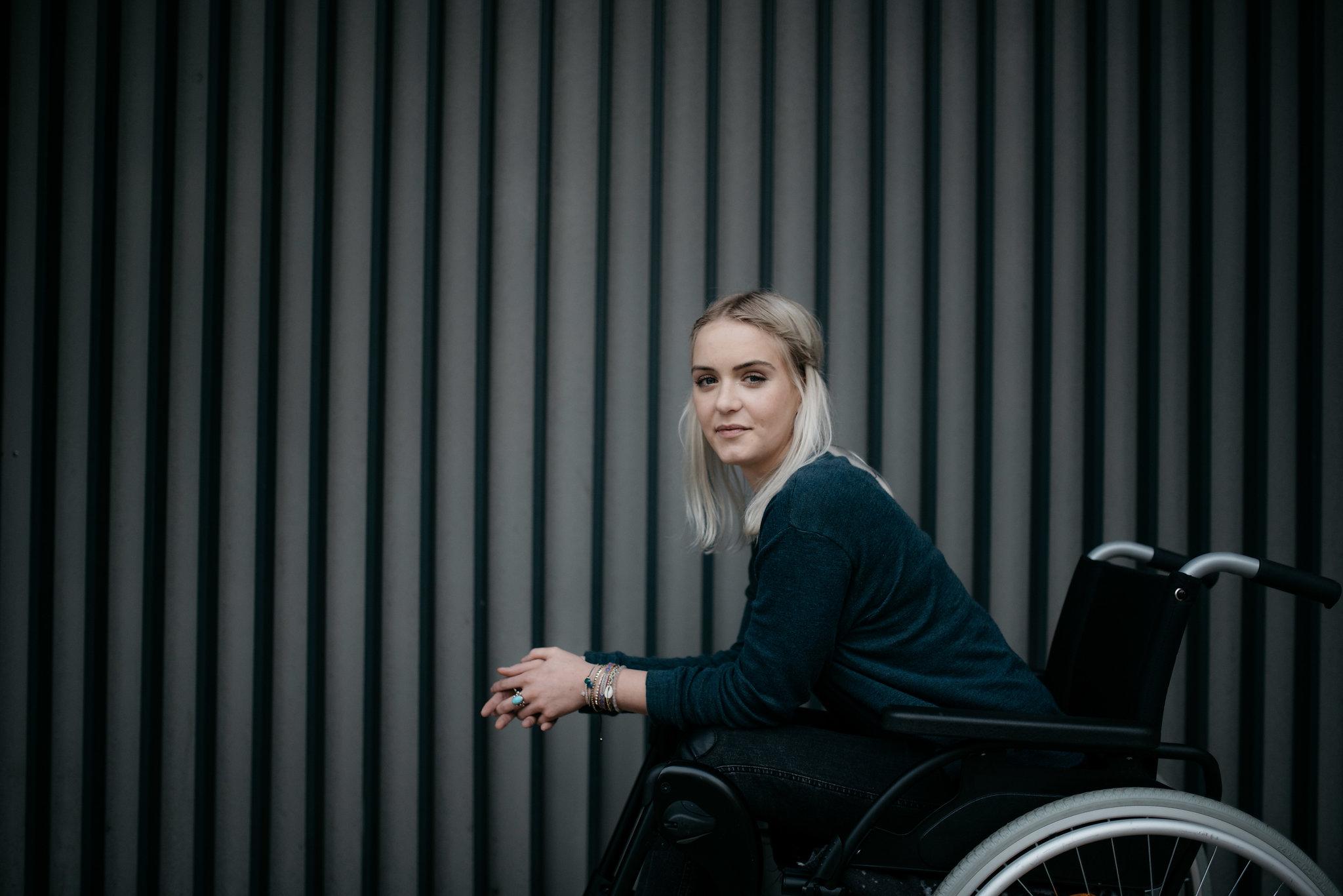 Portrait Photographer Hamburg Wheelchair
