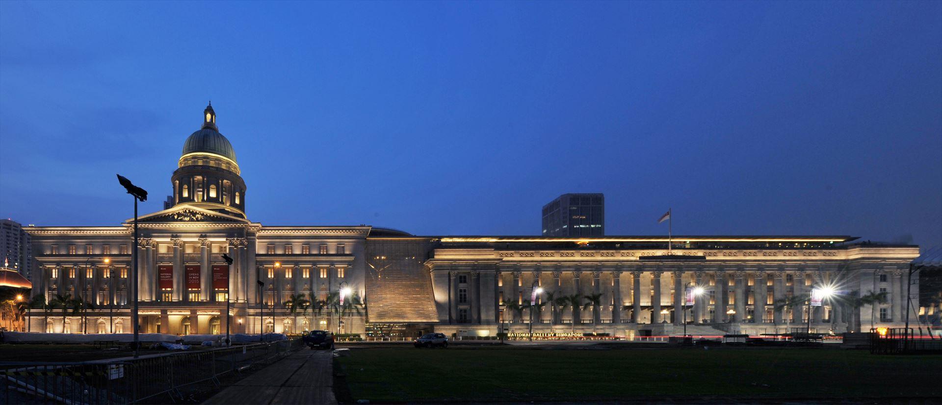 "IES illumination Awards / Award of Merit for ""National Gallery Singapore"" 2016"