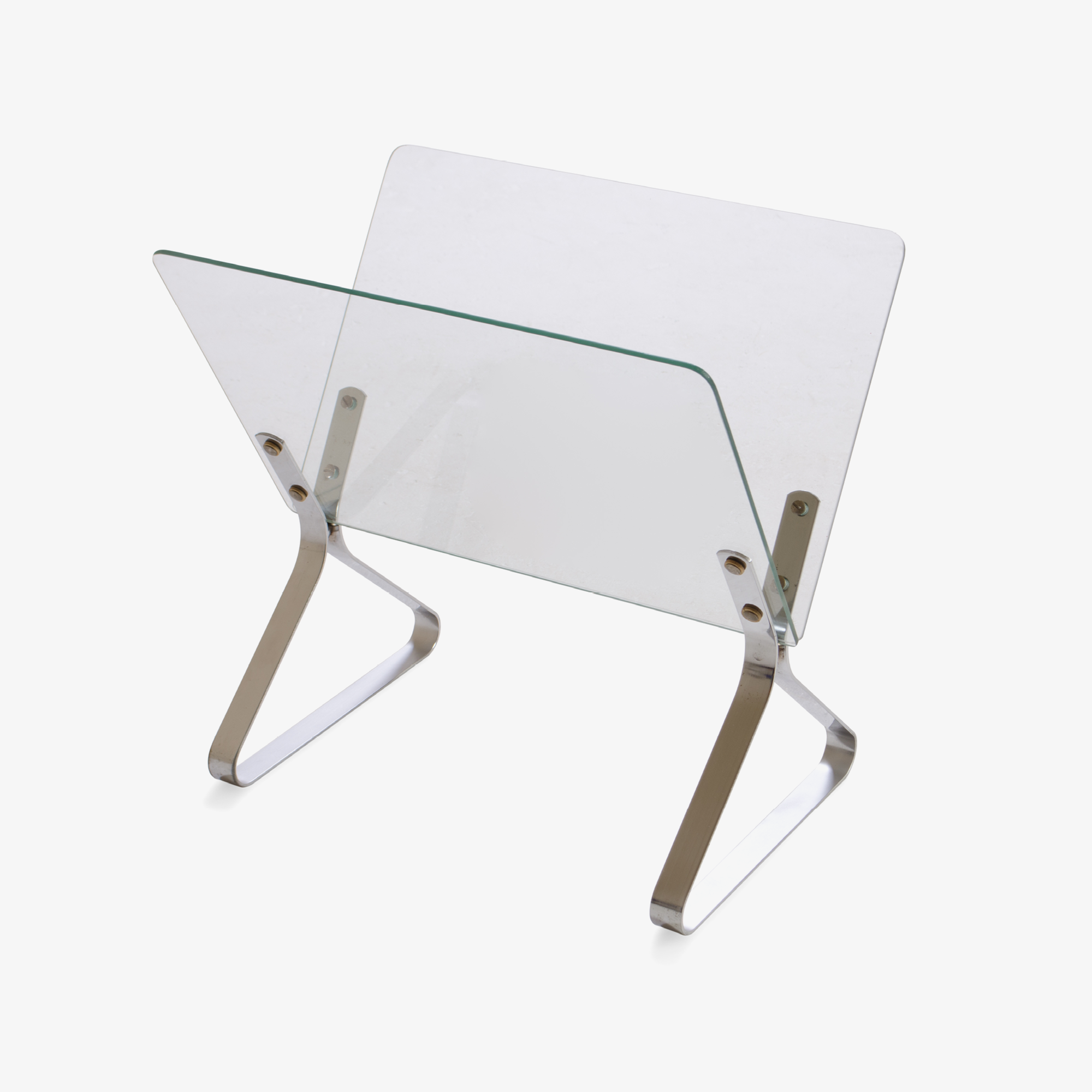 Modernist Magazine Rack