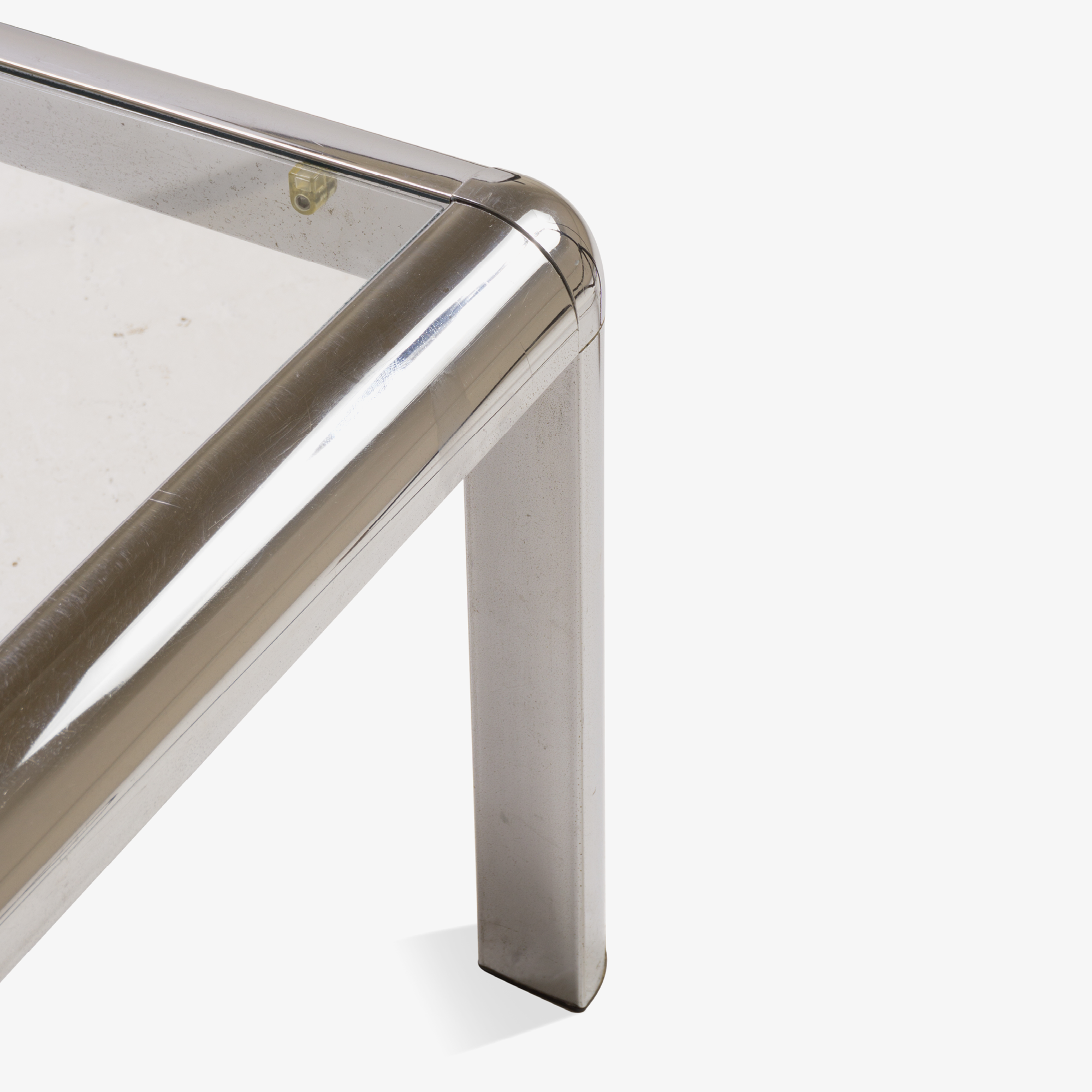 Mid-Century Square Chrome Cocktail Table with Rounded Frame3.png