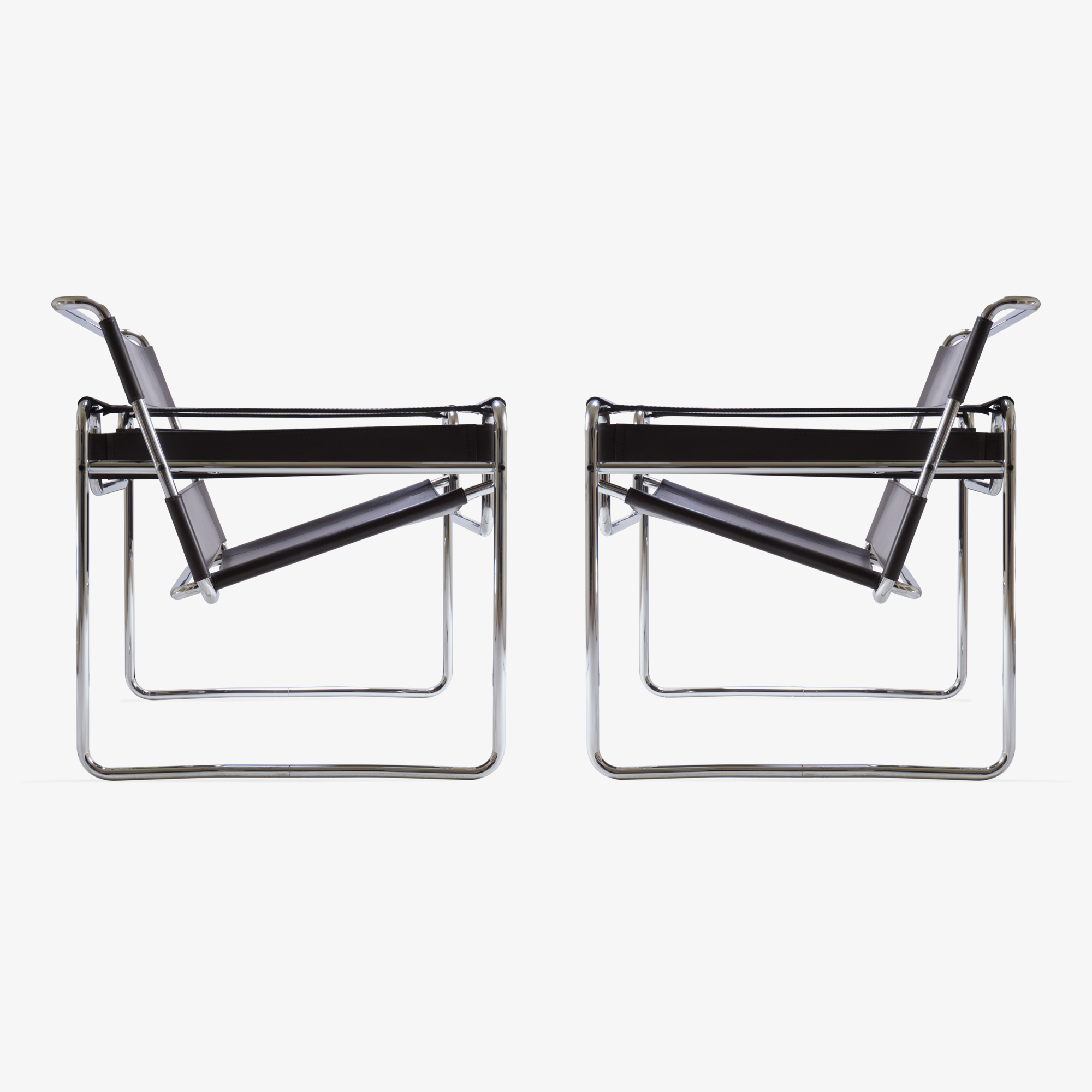 Wassily Chairs by Marcel Breuer for Gavina