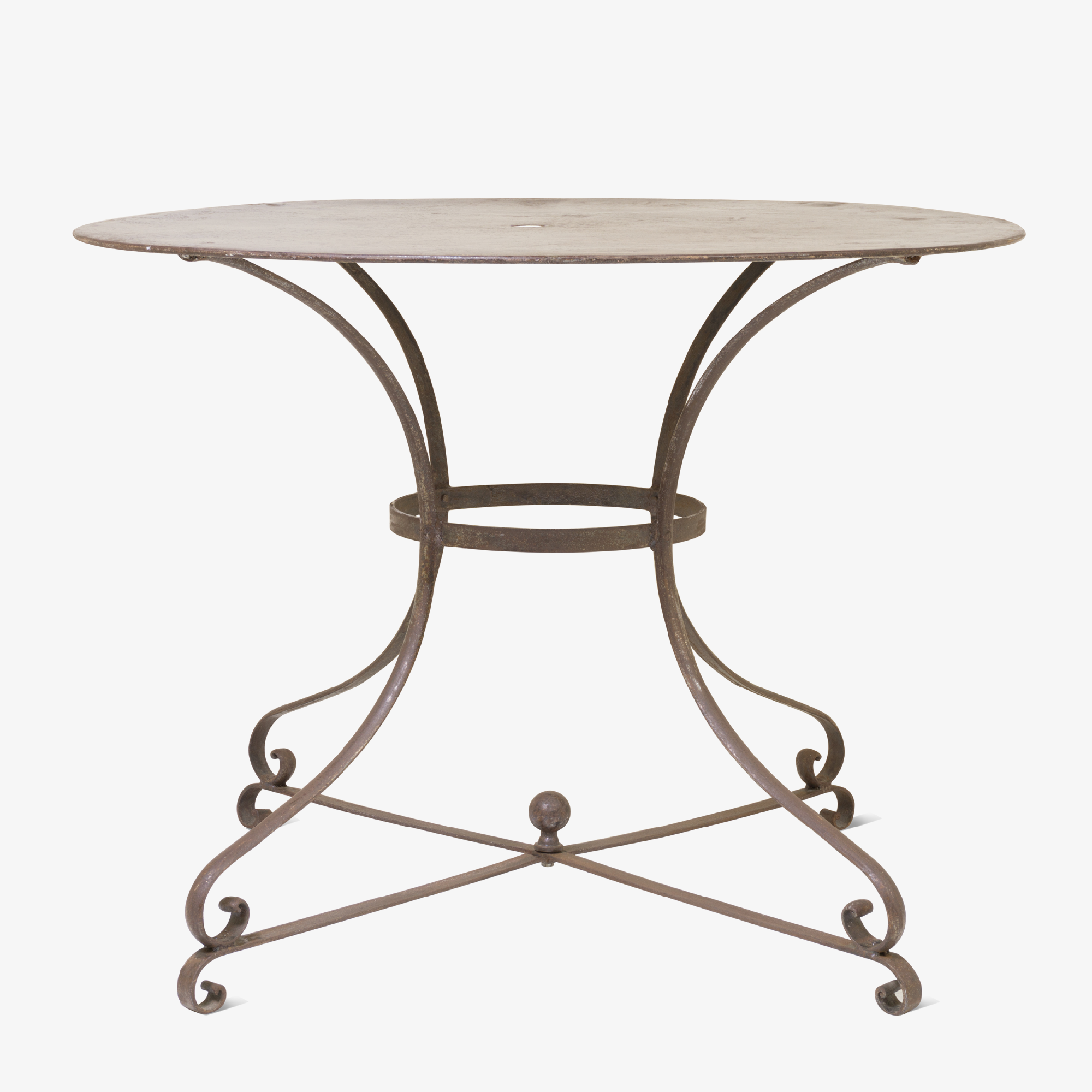 French Iron Gueridon Bistro Table.png