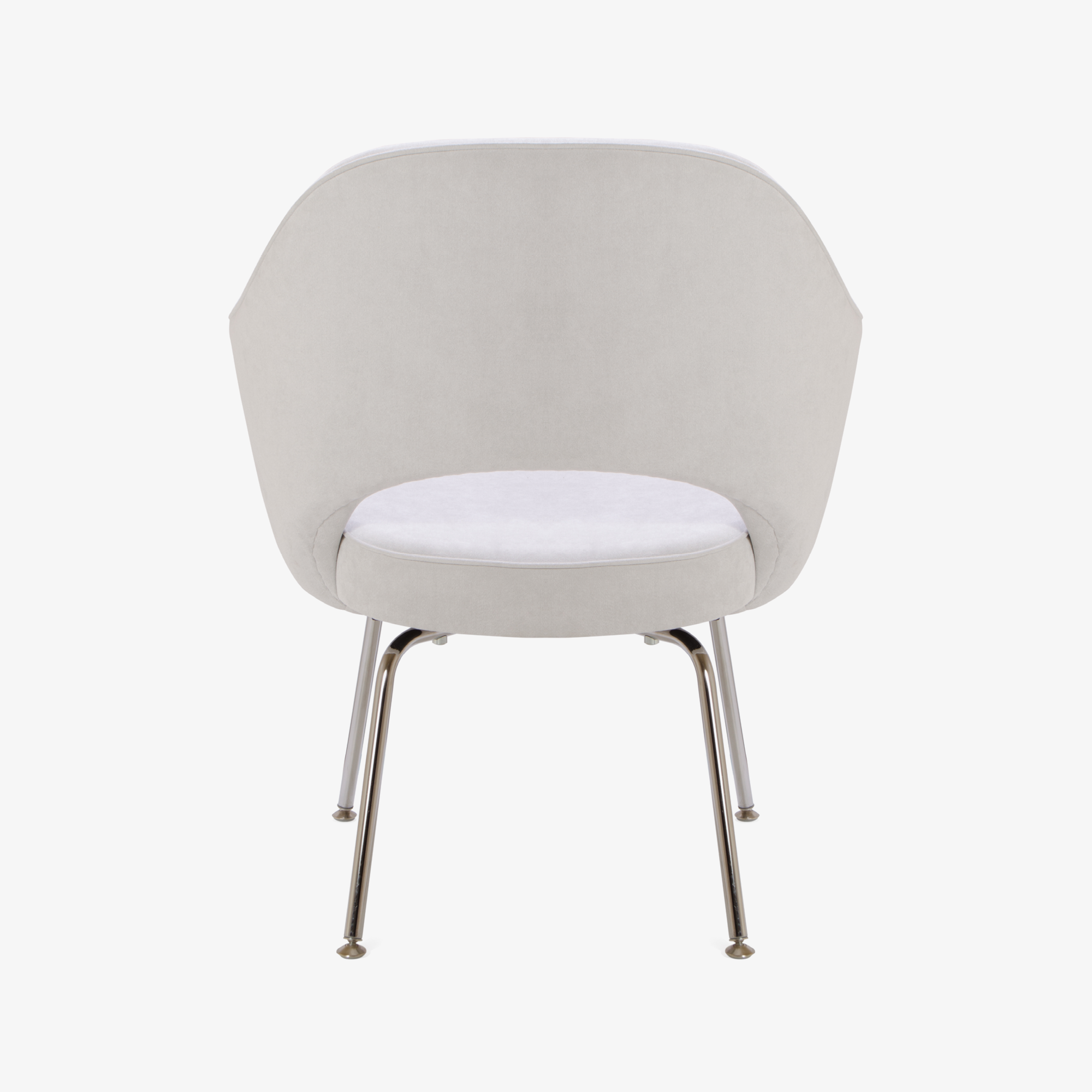 Knoll Saarinen Executive Arm Chair in Luxe Suede