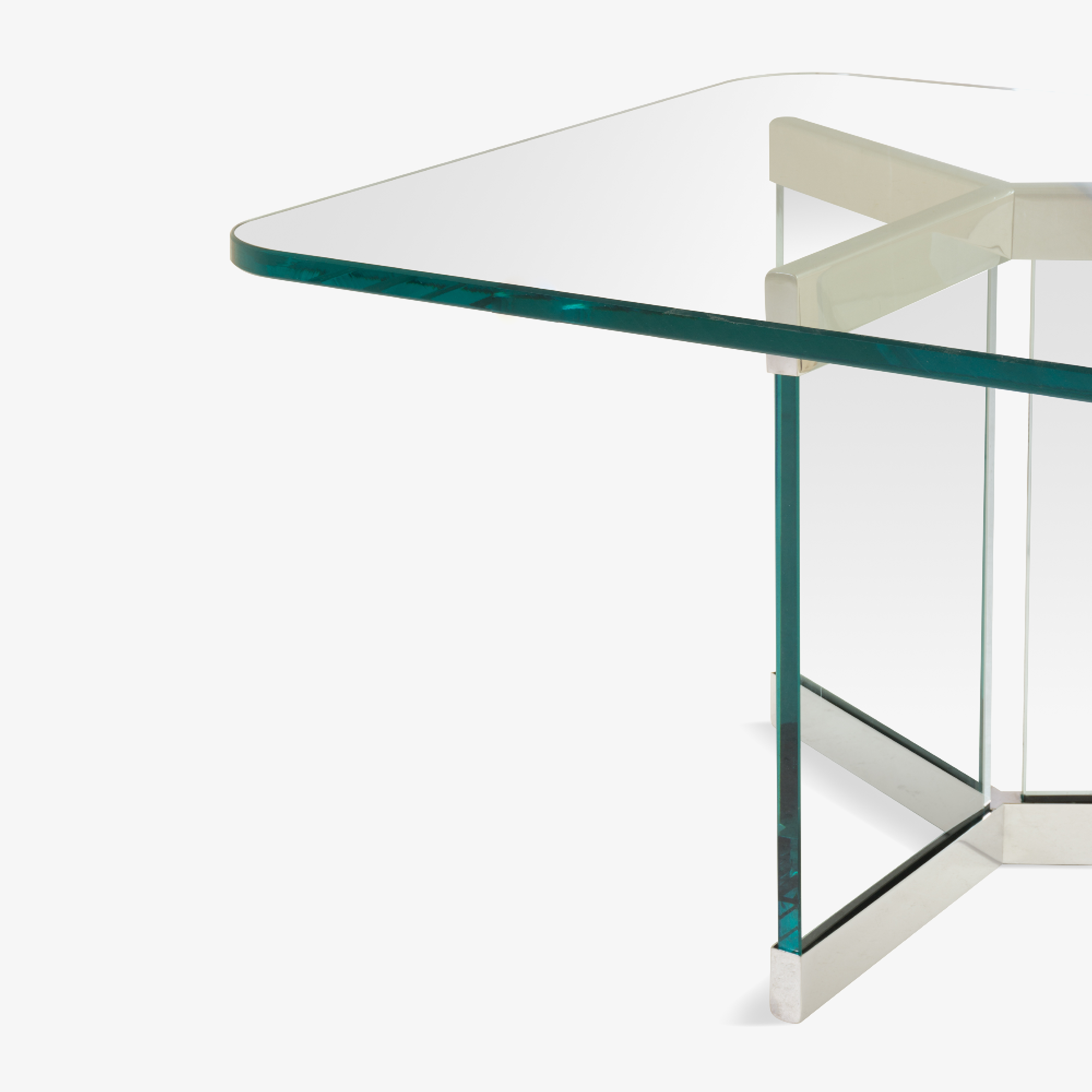 Leon Rosen for Pace Tri-Base Cocktail Table