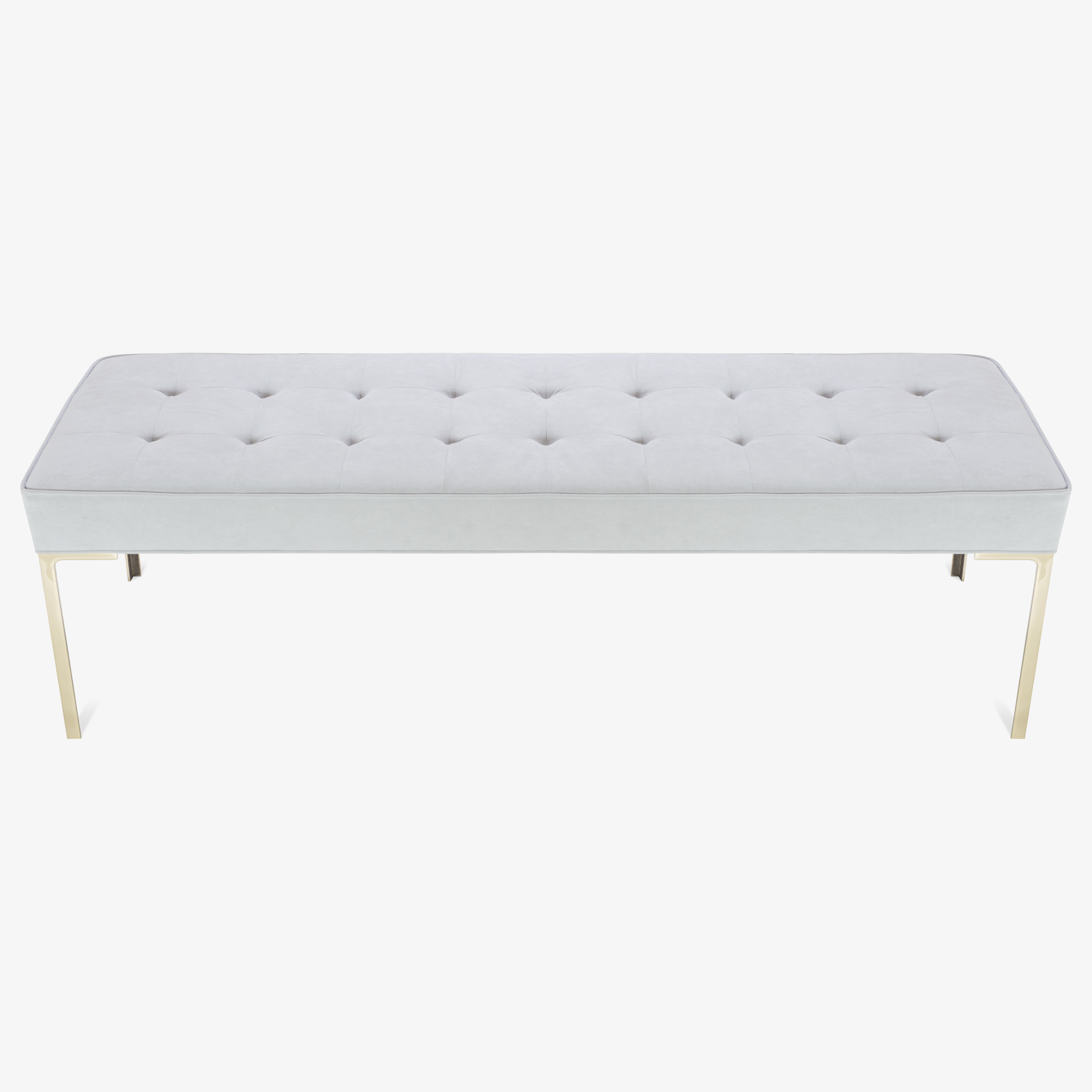 Astor 60%22 Tufted Brass Bench in Dove Luxe Suede (1 of 8)2.png