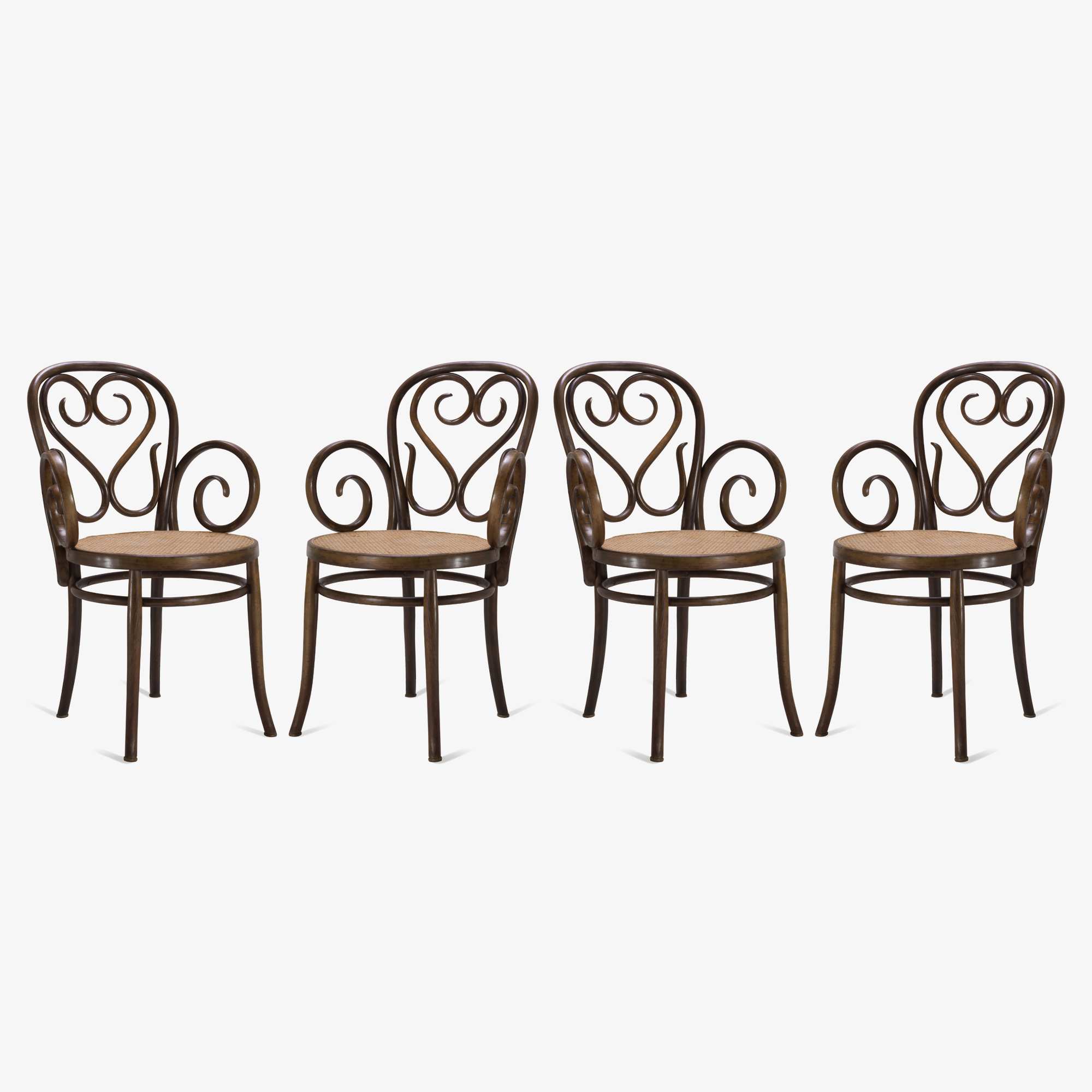 Italian Wood Bistro Chairs with Caned Seats.png