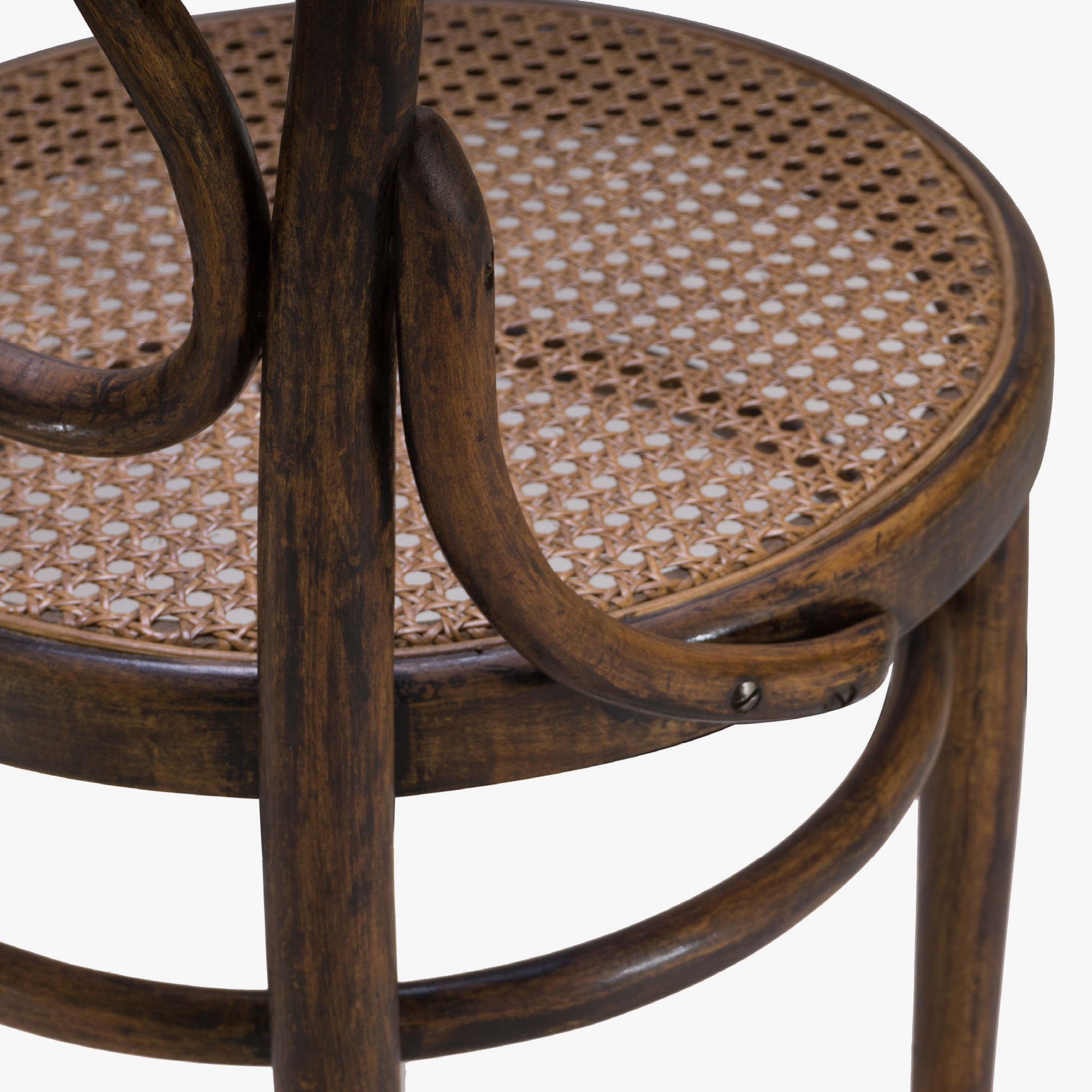 Italian Wood Bistro Chairs with Caned Seats6.png