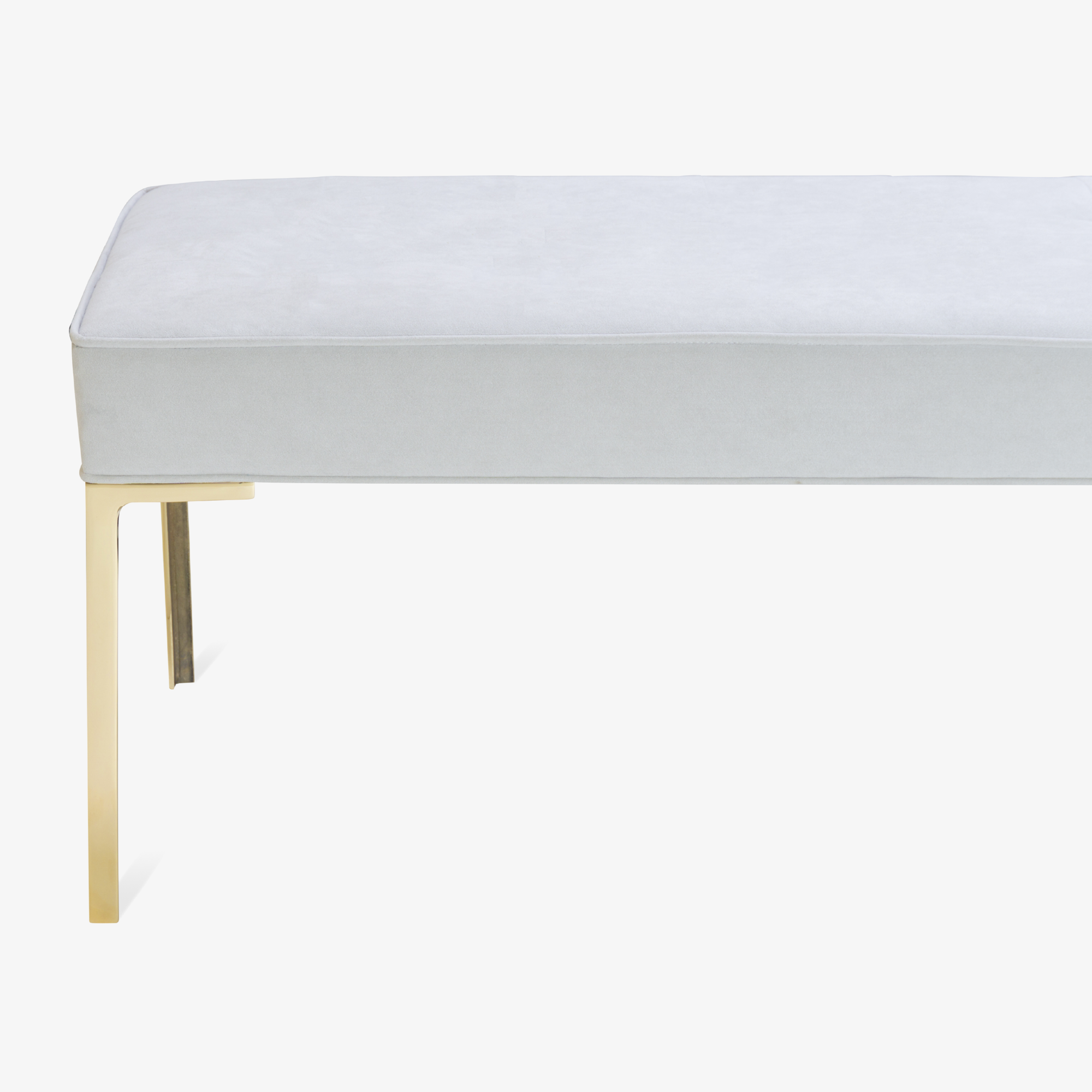 Astor 60%22 Brass Bench in Dove Luxe Suede5.png