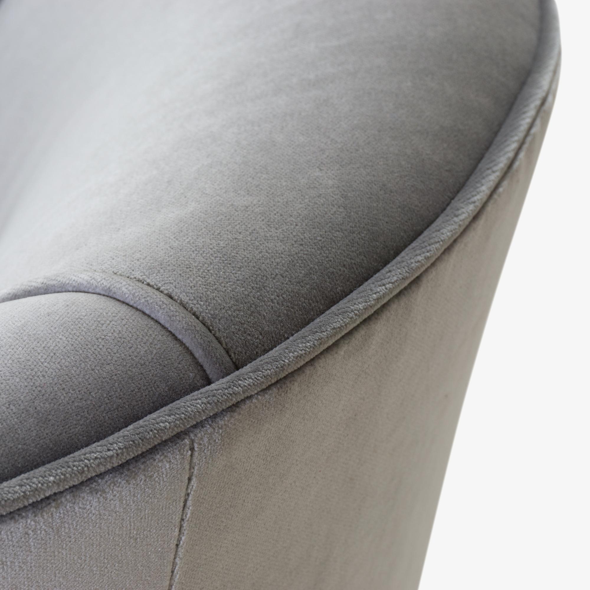 Swivel Tub Chairs in Fog Velvet & Walnut Bases, Pair5.png