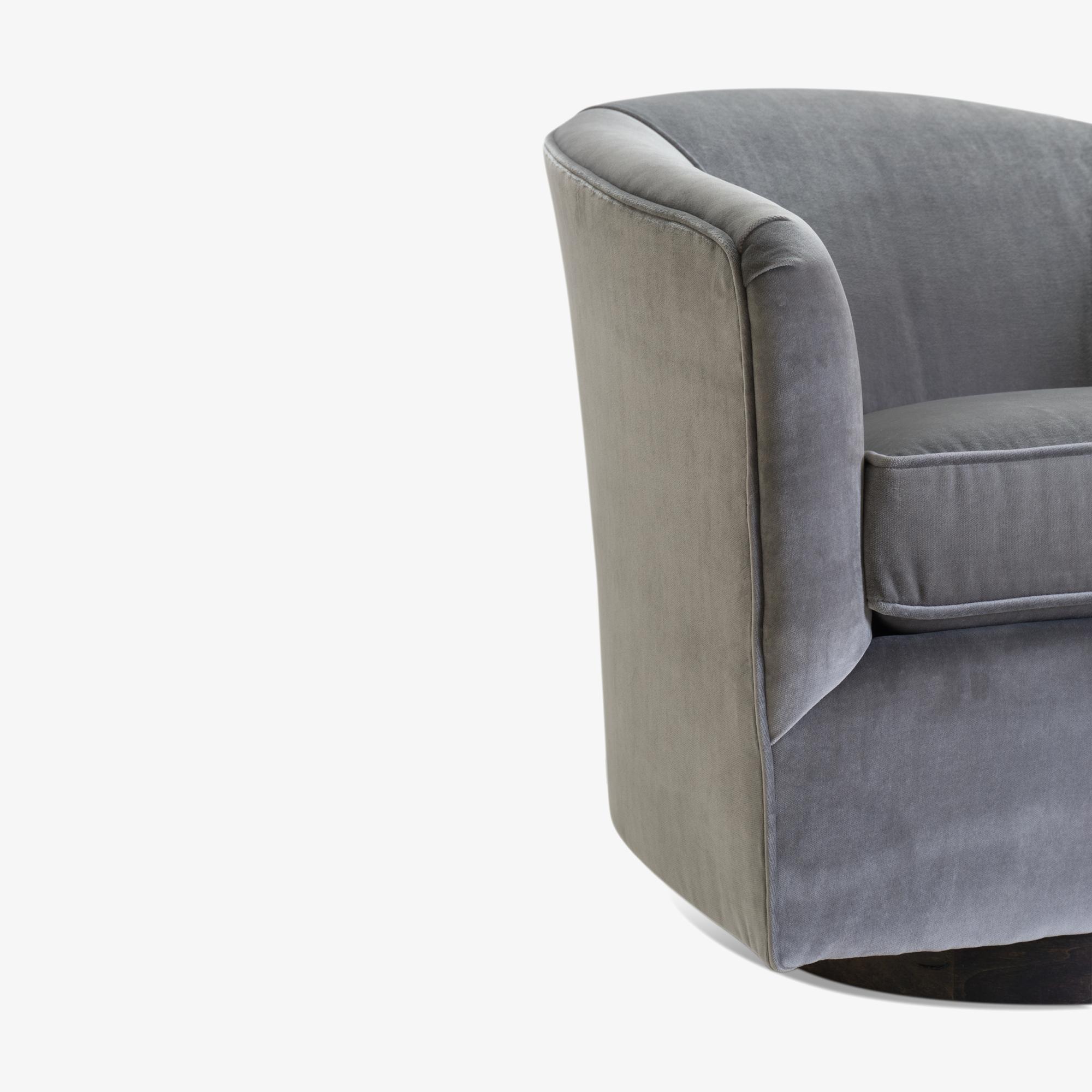 Swivel Tub Chairs in Fog Velvet & Walnut Bases, Pair6.png