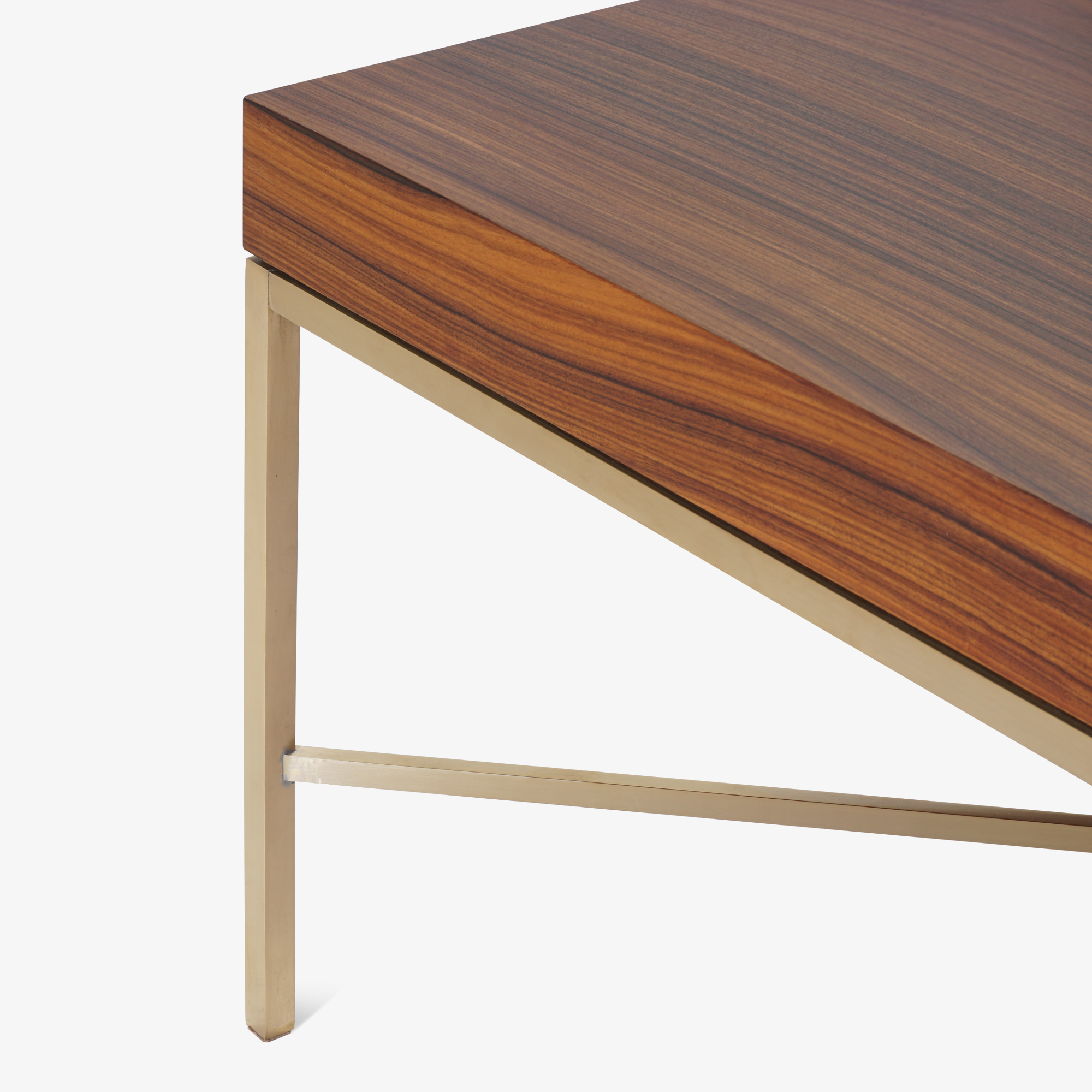 Brass Cross Stretcher Table in Rosewood8.png