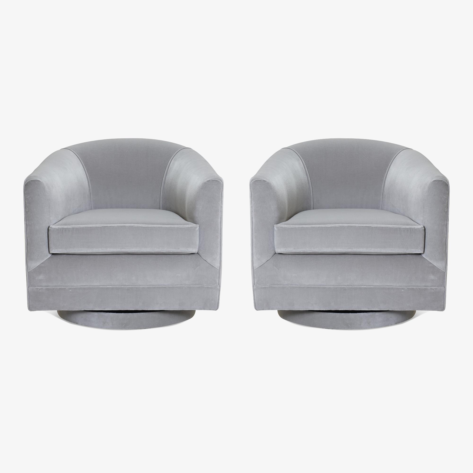 Swivel Tub Chairs in Dove Velvet, Pair2.png