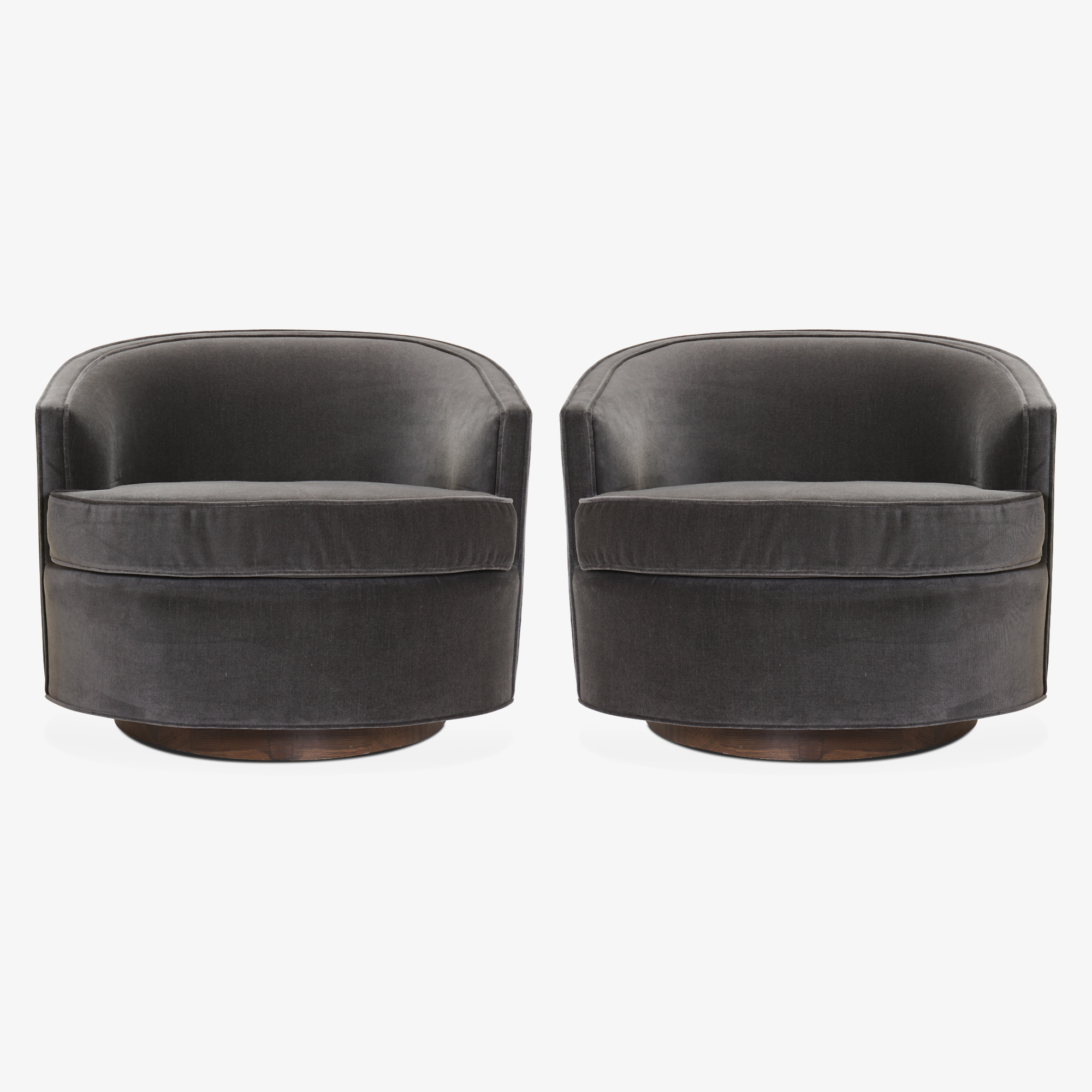 Swivel Tub Chairs in Shadow Velvet, Pair2.png
