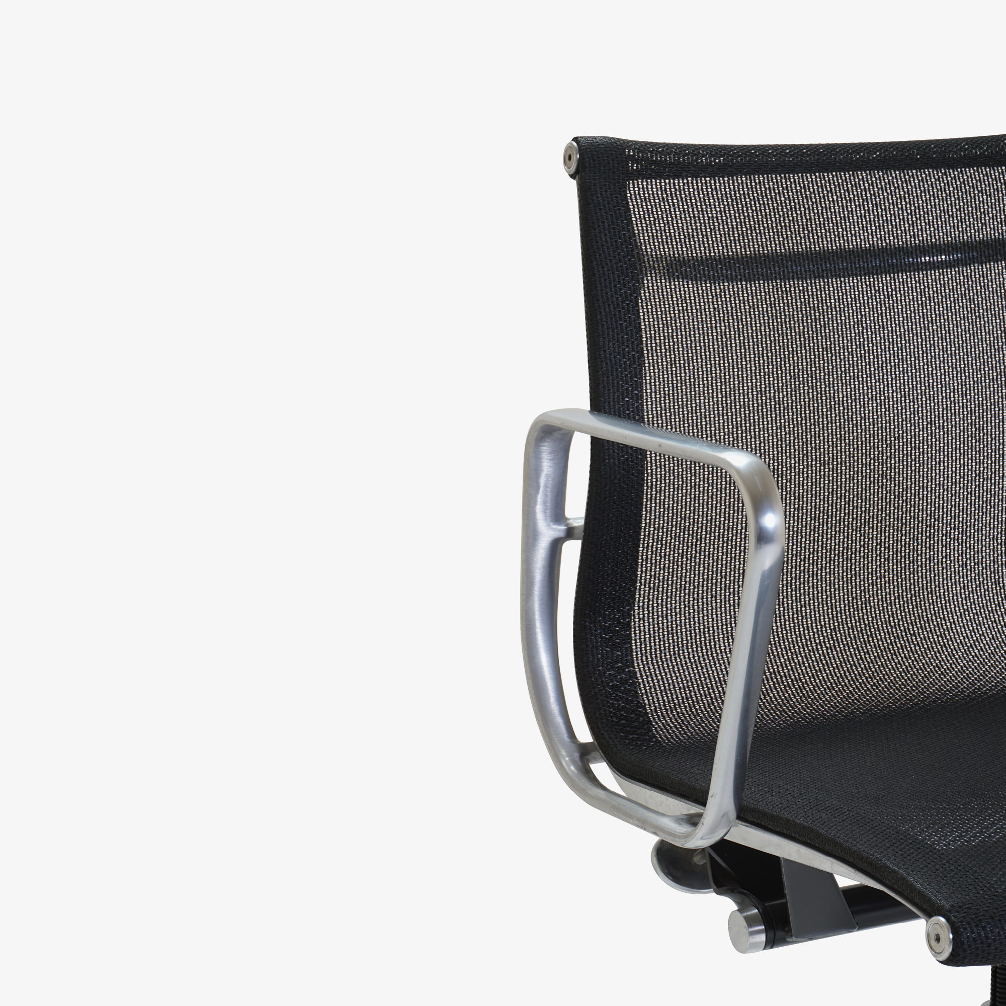 Aluminum Group Management Chair in Black Mesh by Charles & Ray Eames for Herman Miller7.png