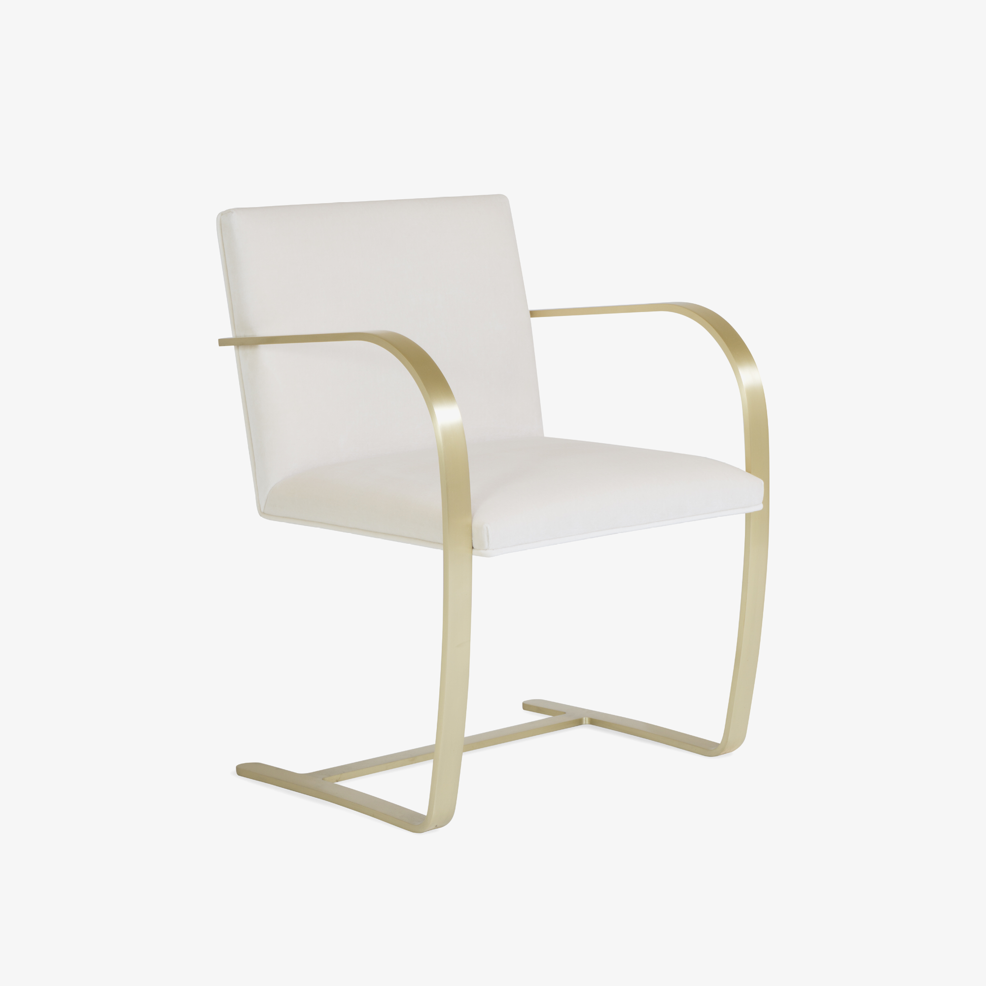 Brno Flat-Bar Chairs in Creme Velvet, Brushed Brass.png