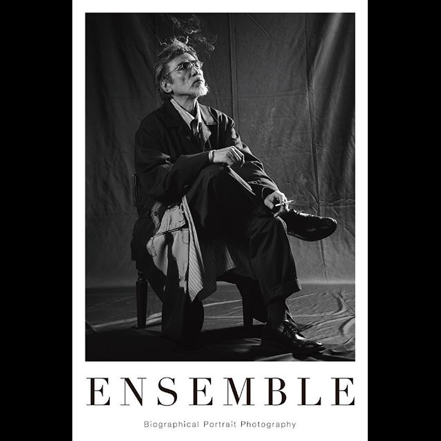 _ Portrait poster from 「Ensemble02」.For our first exhibition [OPUS ONE] at Omotesando Rocket in January 2018. Size:614×910  #seigomatsuoka  #松岡正剛 #tableensemble  #ensemble
