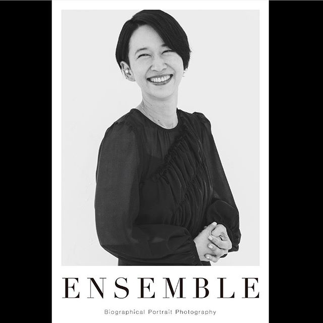 _ Portrait poster from 「Ensemble02」.For our first exhibition [OPUS ONE] at Omotesando Rocket in January 2018. Size:614×910  #kanakonishi  #西加奈子 #tableensemble  #ensemble